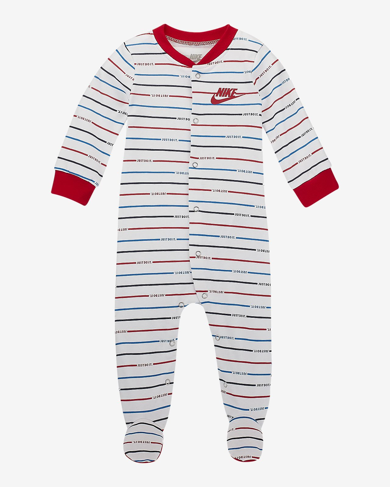 Nike Sportswear Baby (0–9M) Footed Overalls