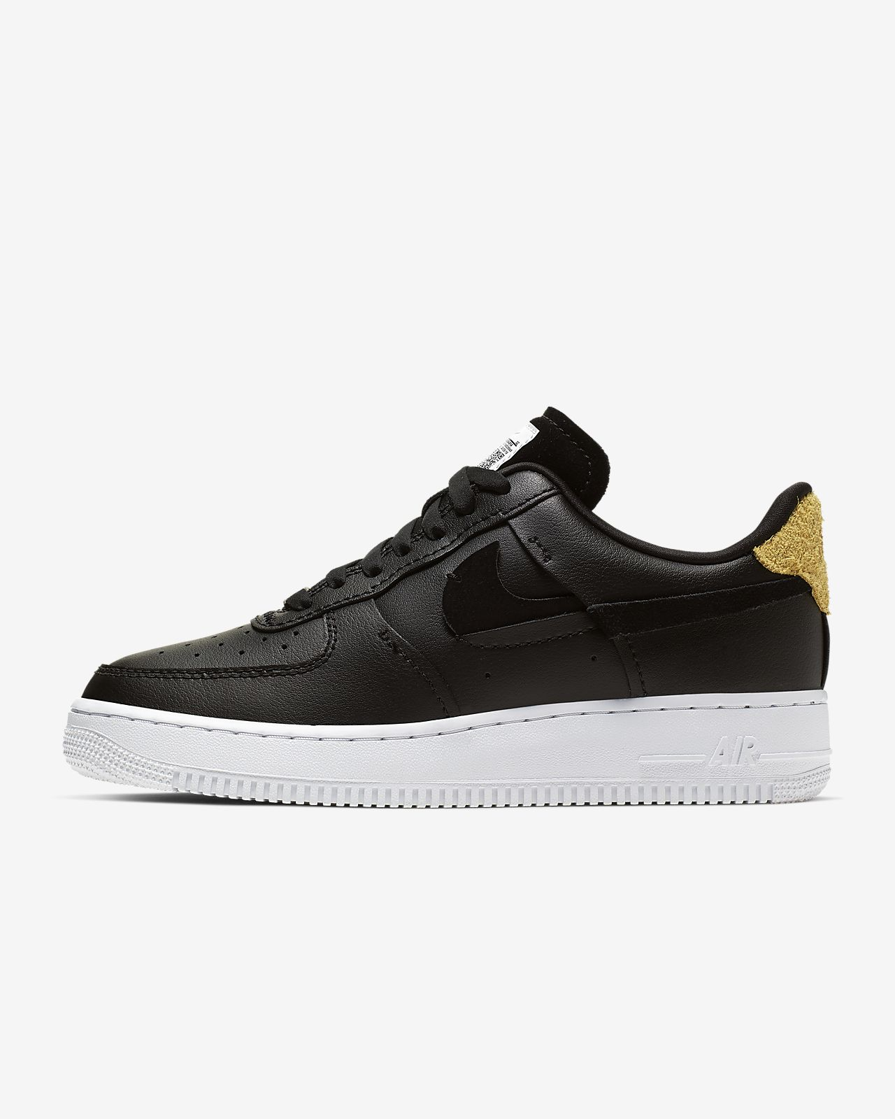Nike Air Force 1 '07 Herren Sneakers Weiß, EU 41