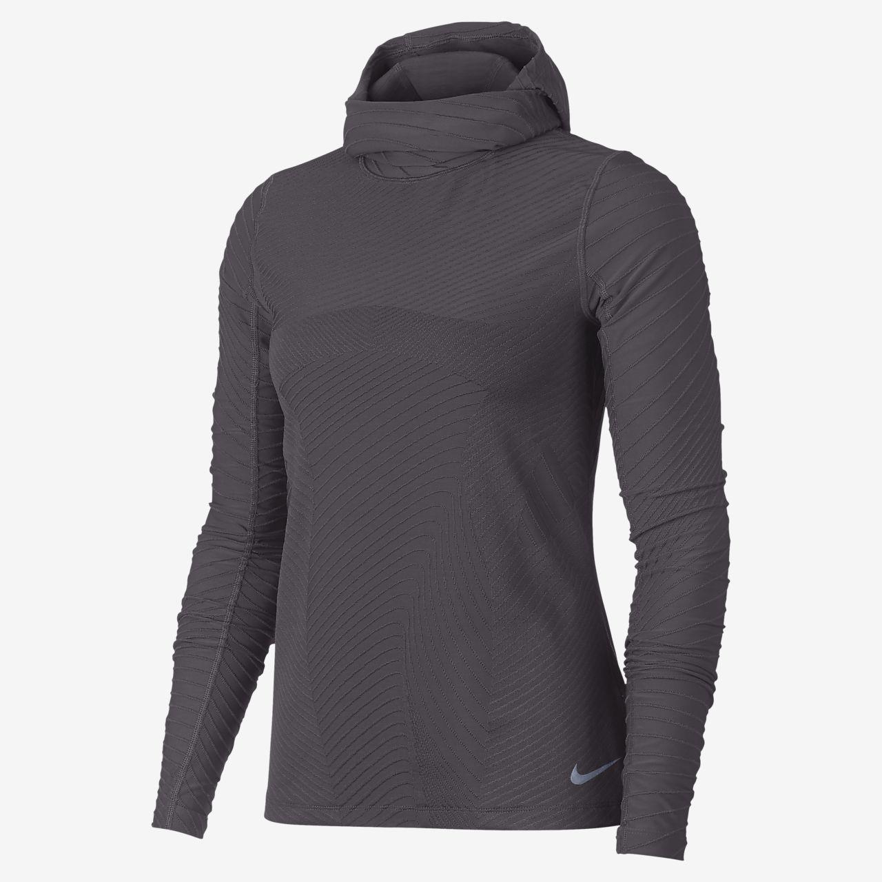 sale retailer 59ff6 92d75 Sudadera con capucha de running para mujer Nike Element