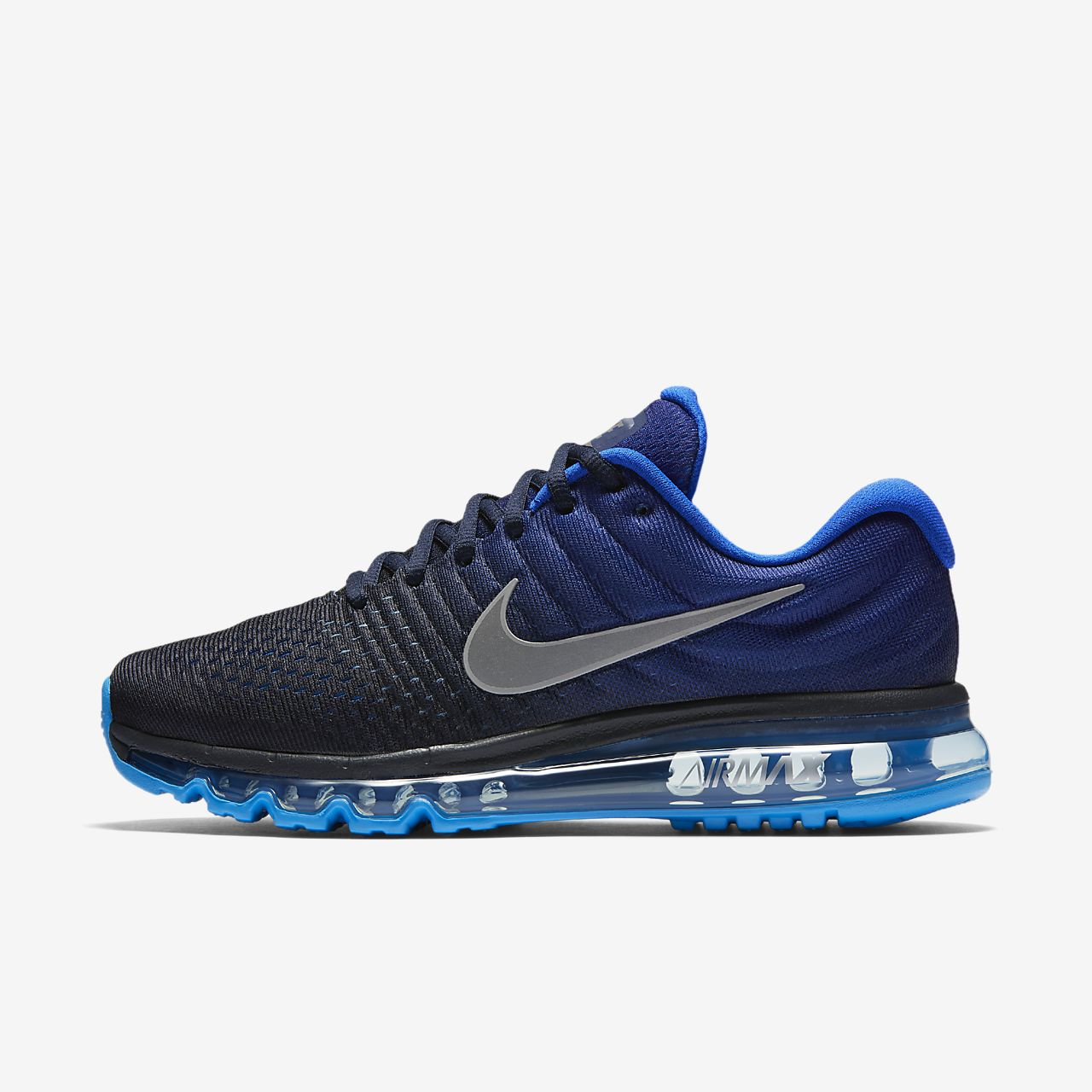 Nike Air Max 2017 'obsidianobsidian blue' | UNBOXING | fashion shoes | 2018