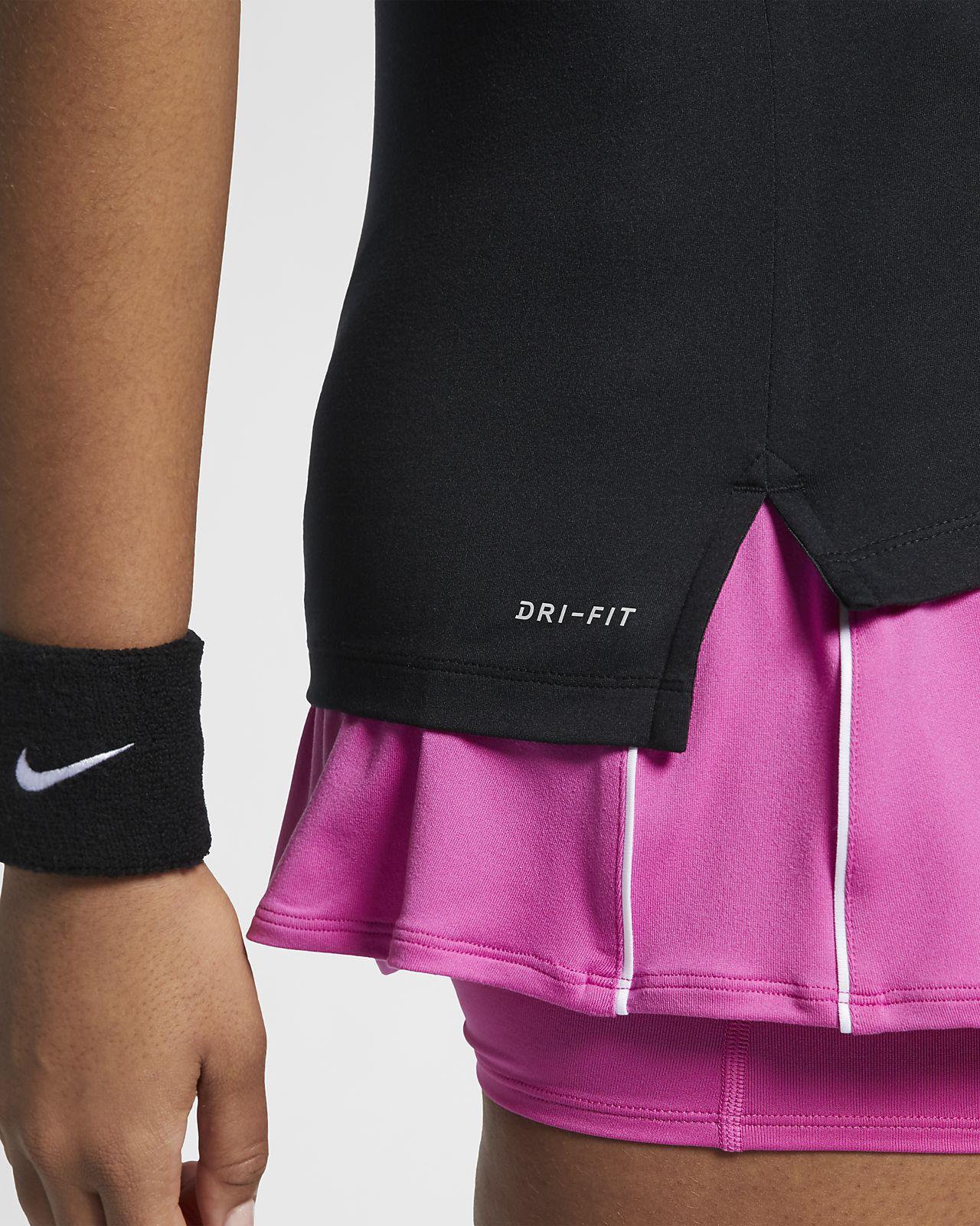 nike tennis shirt pure damen pink