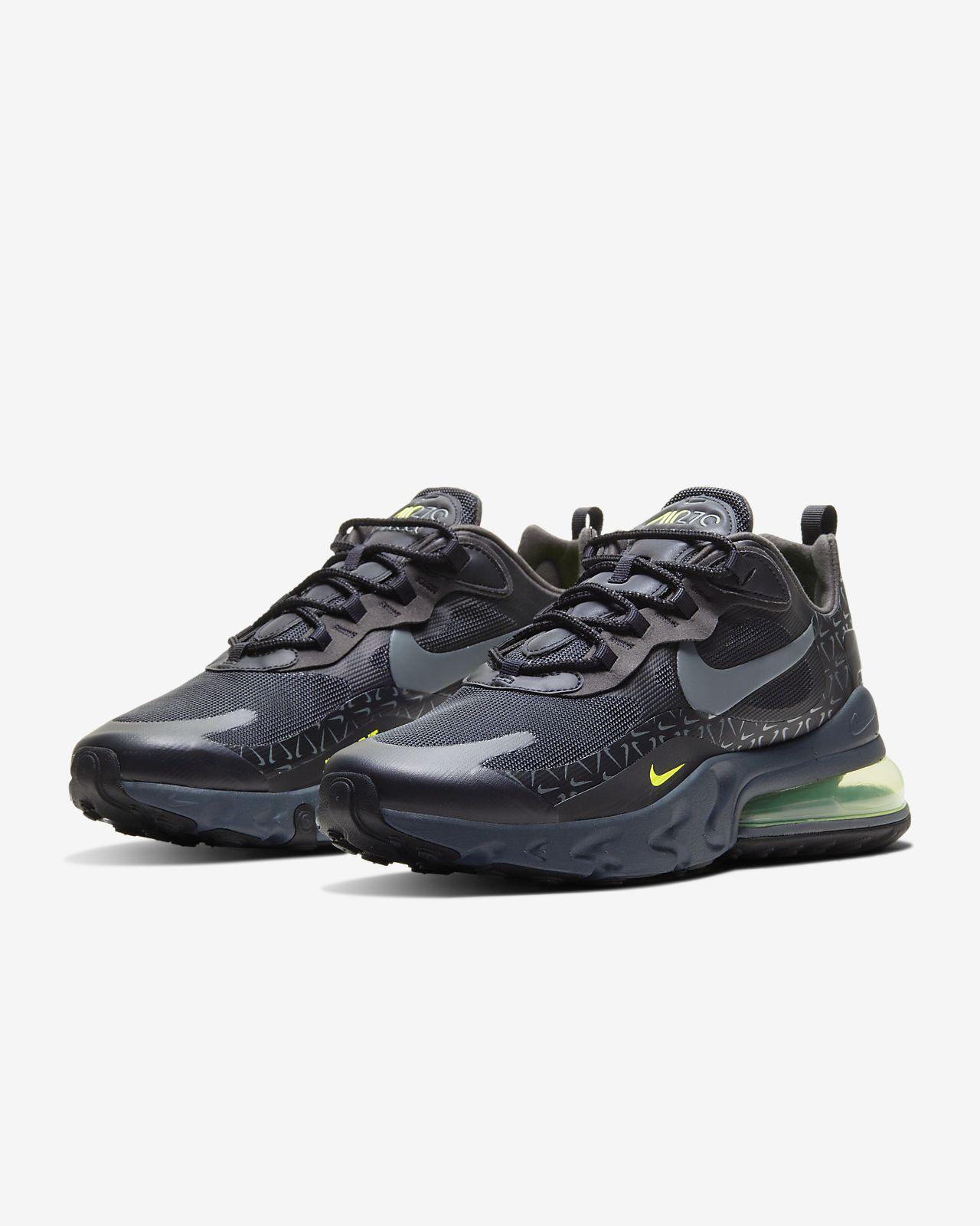 Nike Air Max 270 Futura Herren Laufschuh wolf greywhite dark grey black AO1569 006