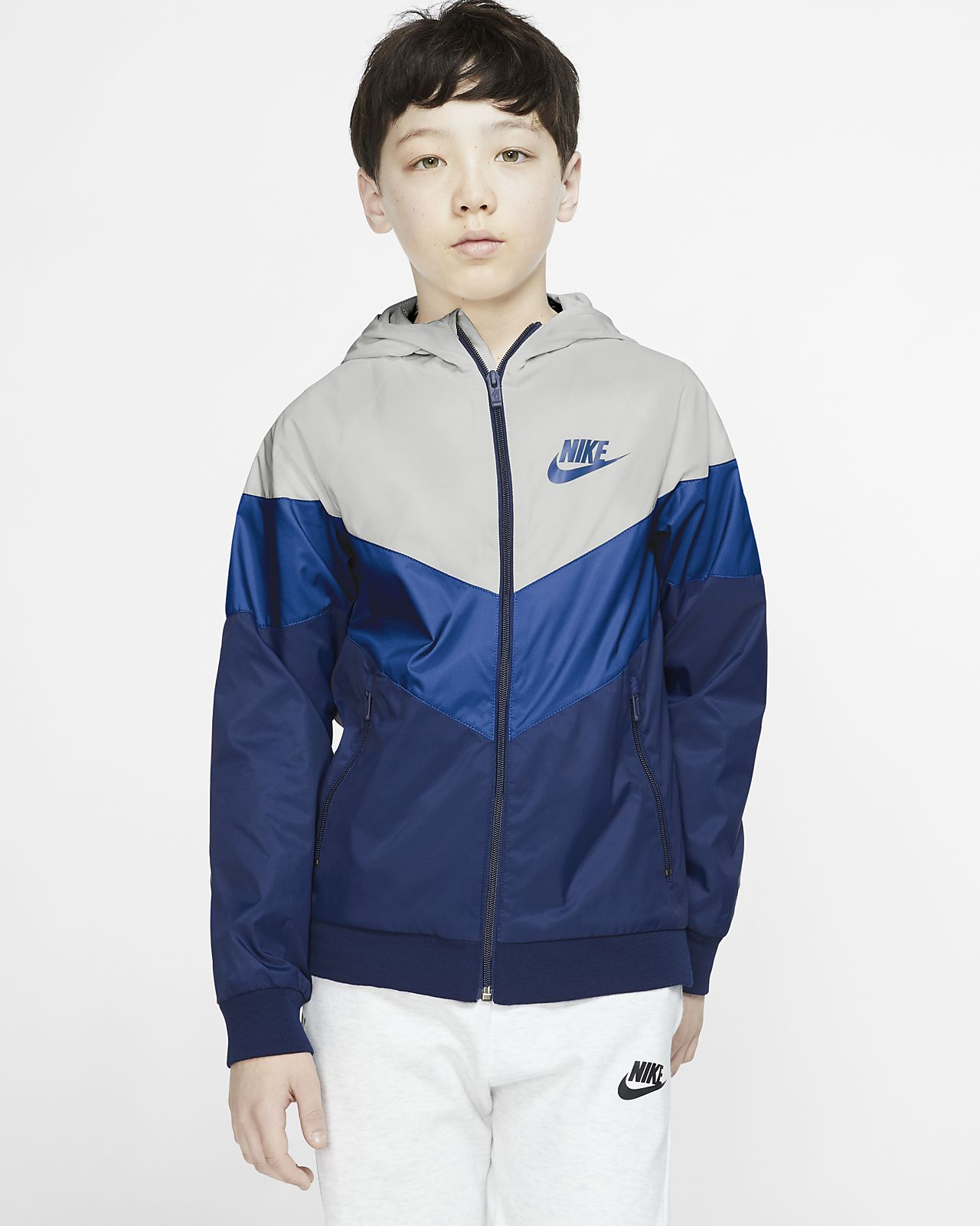 Bunda Nike Sportswear Windrunner pro větší děti