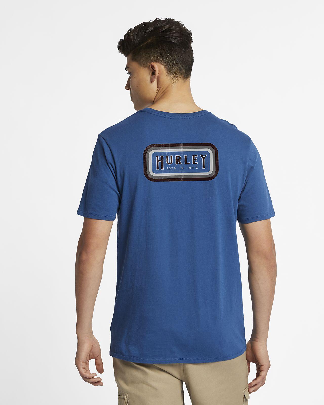 T-shirt Hurley Breaker för män
