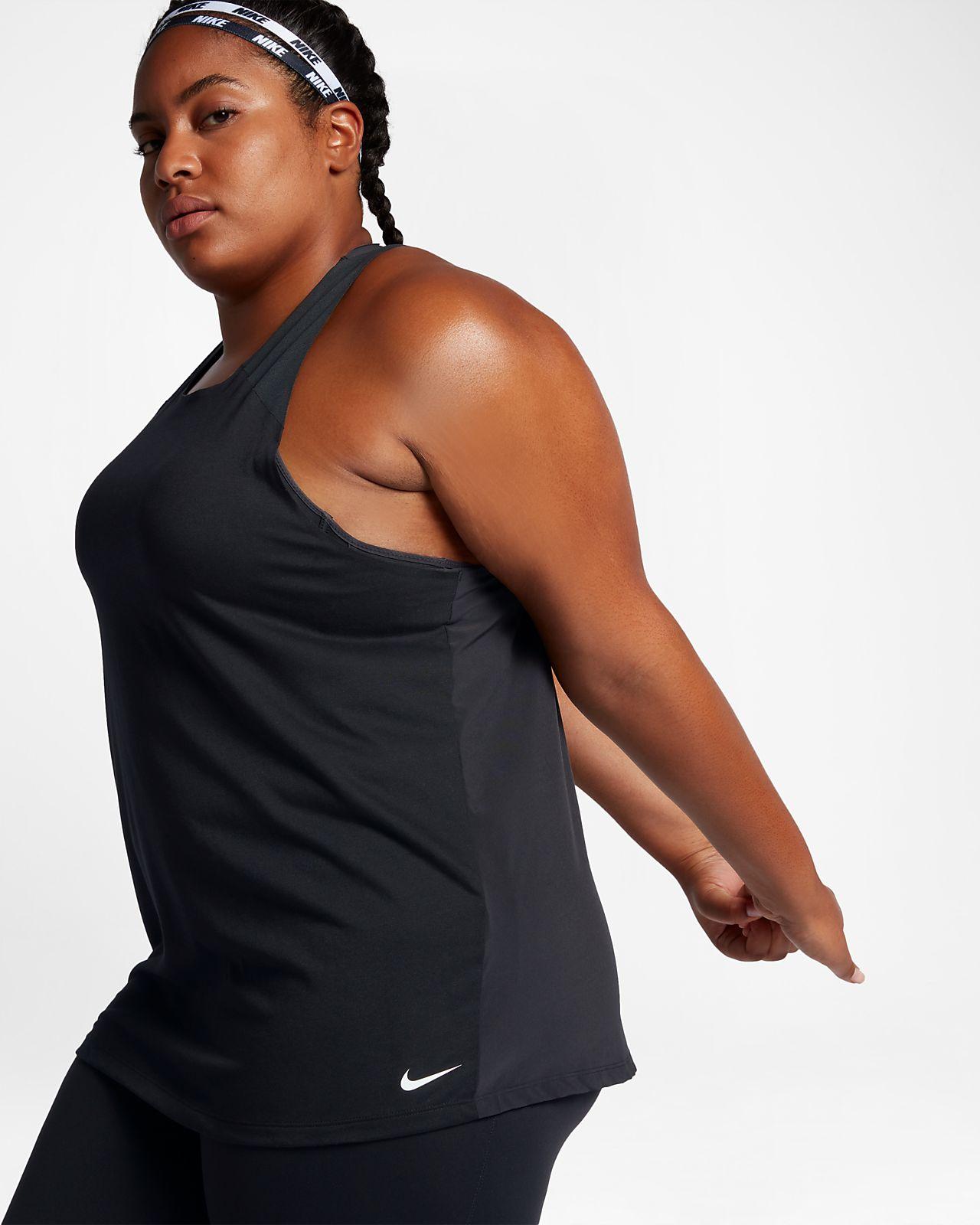 Nike Tirantes talla Camiseta Para Breathe Entrenamiento Mujer Grande De p4WgO1zX
