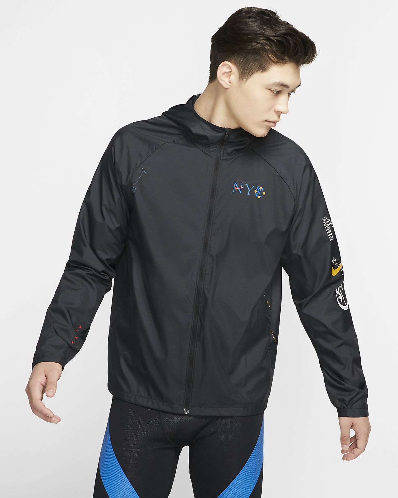 Veste de running Nike Repel NYC pour Homme