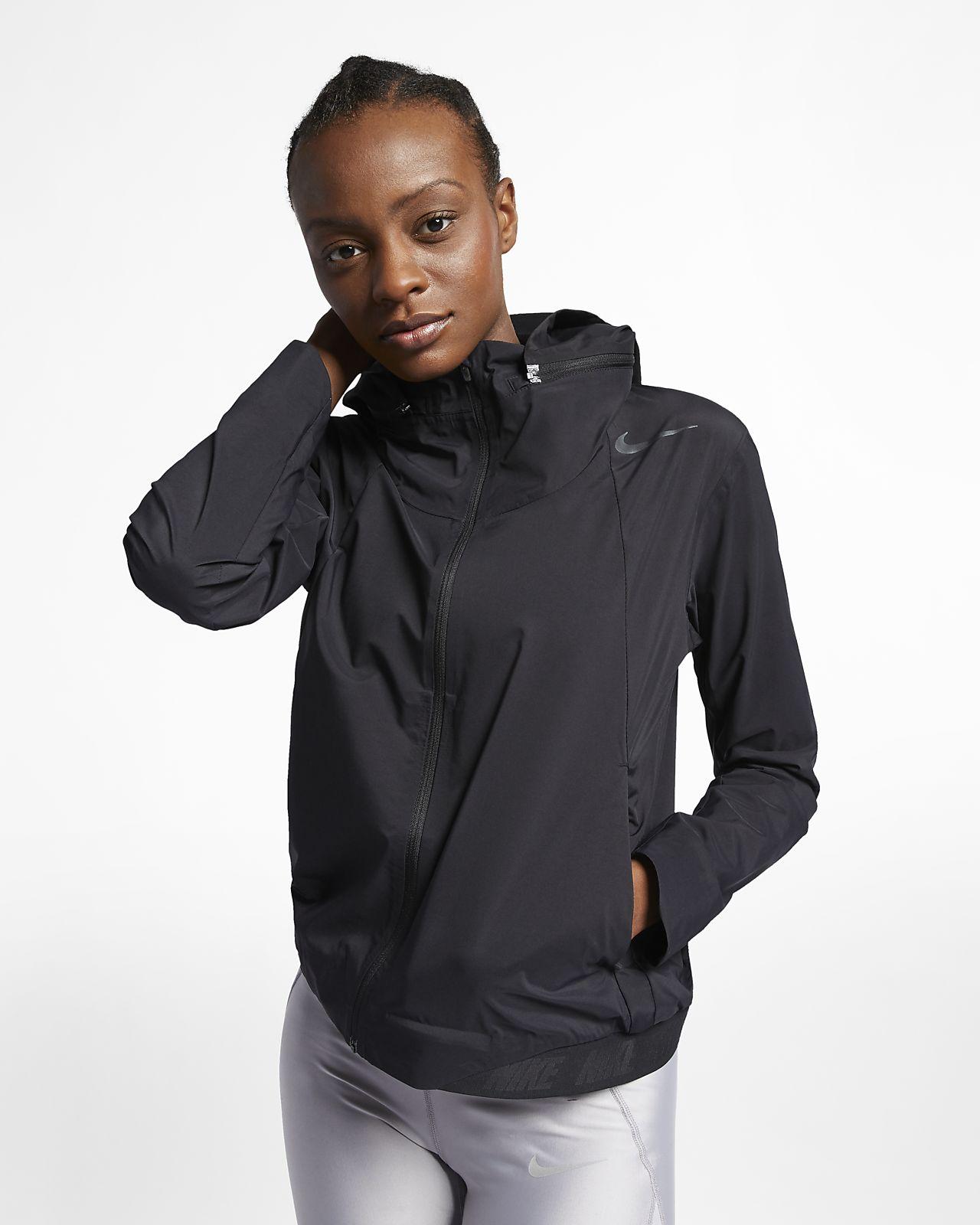 detailed look 0271b 0ce6c ... Nike Zonal AeroShield Women s Running Jacket