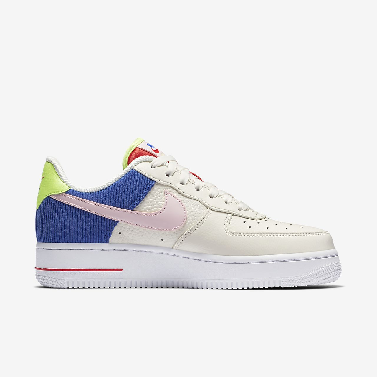 WMNS NIKE AIR FORCE 1 LOW SAIL / ARCTIC PINK  CASUAL WOMEN'S SELECT YOUR SIZE