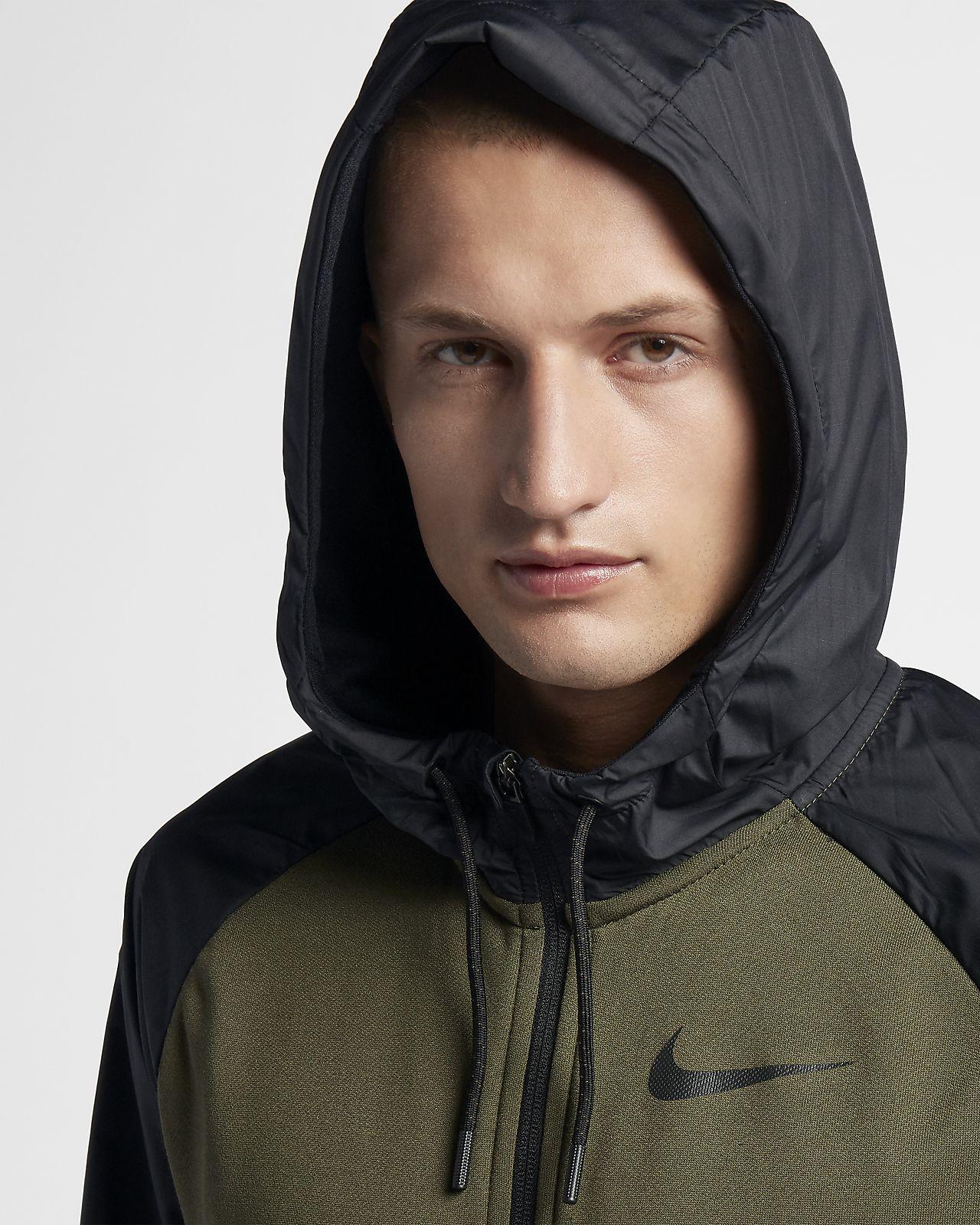 Capucha Hombre Completa Sudadera Fit De Con Utility Nike Dri Entrenamiento Cremallera Nn8wvm0O