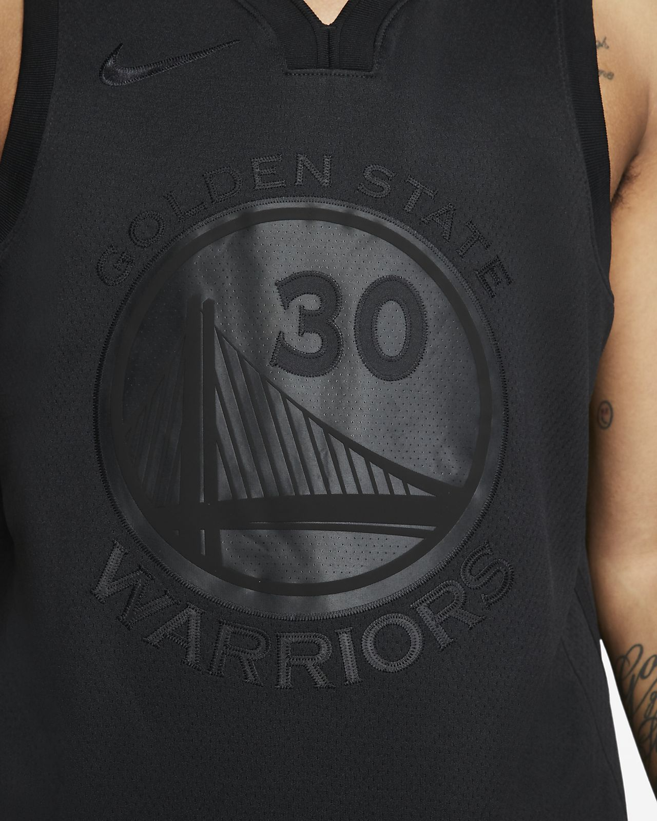 new concept 1e0a7 06b79 Stephen Curry MVP Swingman (Golden State Warriors) Men's Nike NBA Connected  Jersey