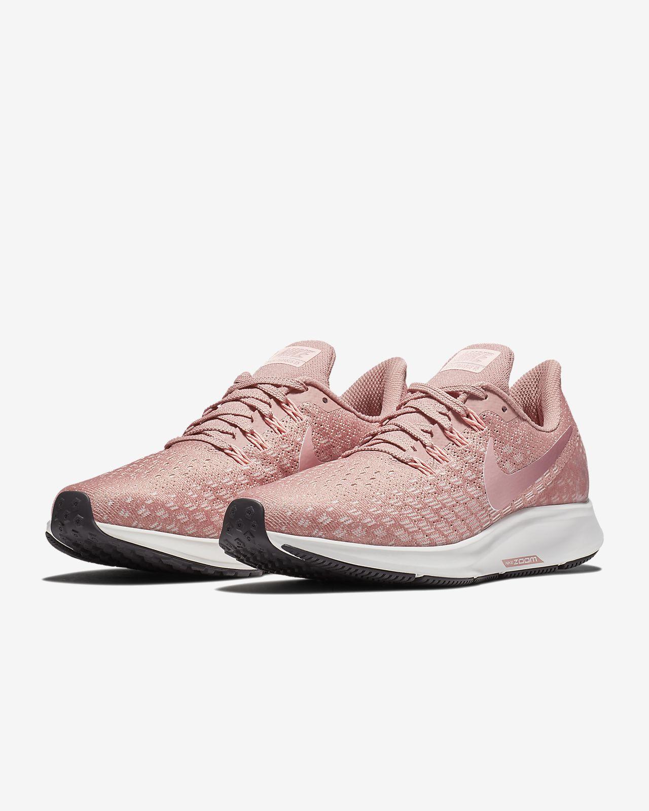 scarpa da running nike air zoom pegasus 35 rust pinkguava
