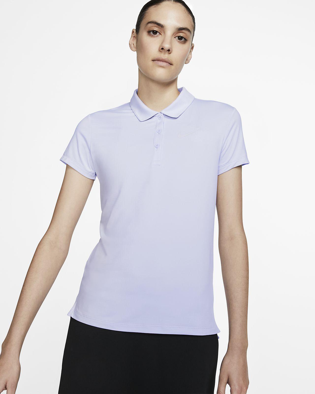 NikeCourt Pure Tennis-Poloshirt für Damen