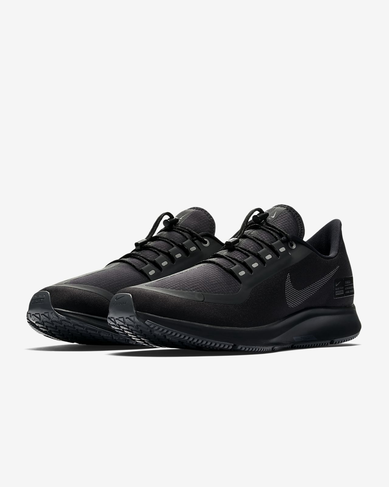7f52e6bbaa1 Nike Air Zoom Pegasus 35 Shield Water-Repellent Men s Running Shoe ...