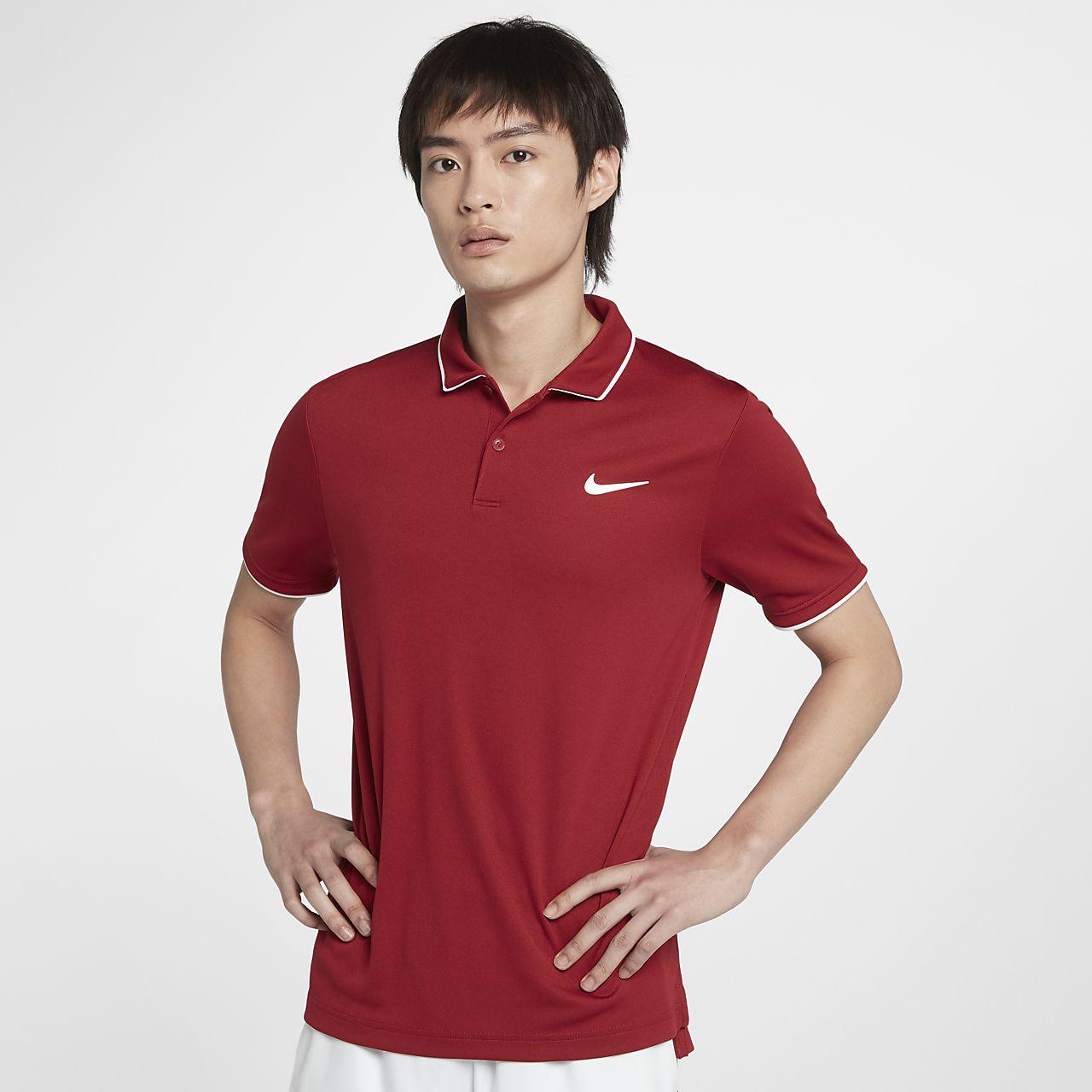 NikeCourt Dri-FIT Team 男子网球翻领T恤