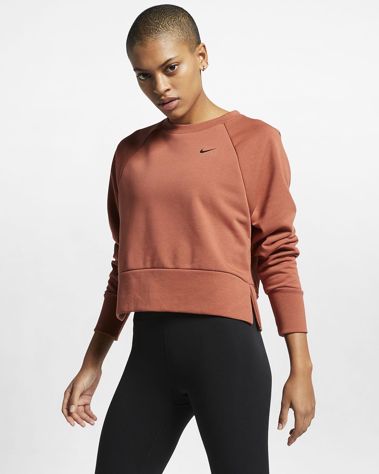 5cf28a4eea403 Nike Dri-FIT Women's Long-Sleeve Yoga Training Top. Nike.com CH
