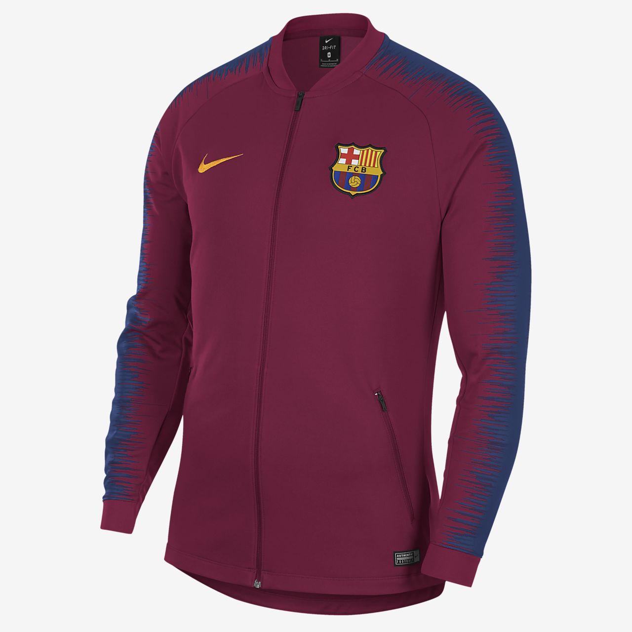 Blusão de futebol FC Barcelona Anthem para homem