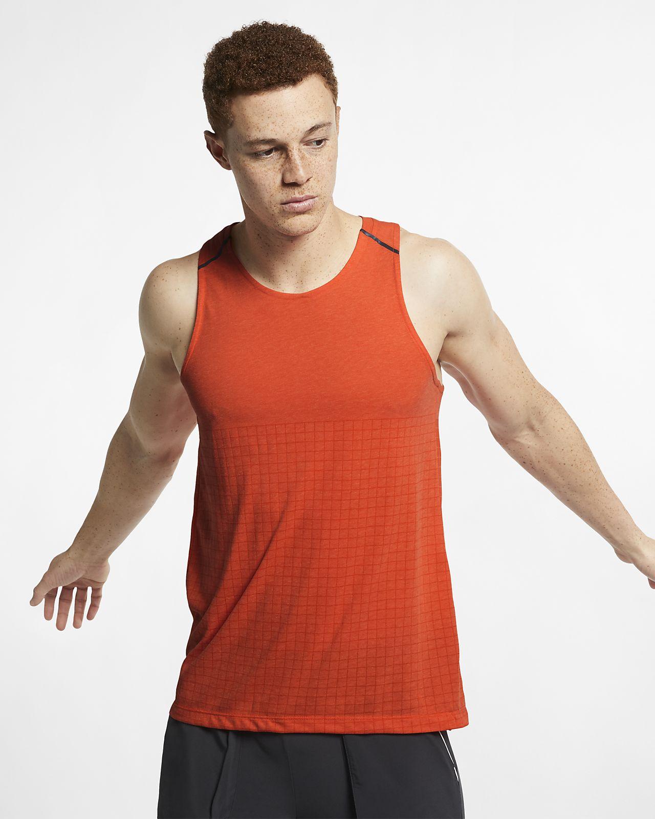 pretty nice 311fe 98877 ... Nike Rise 365 Tech Pack Men s Running Tank