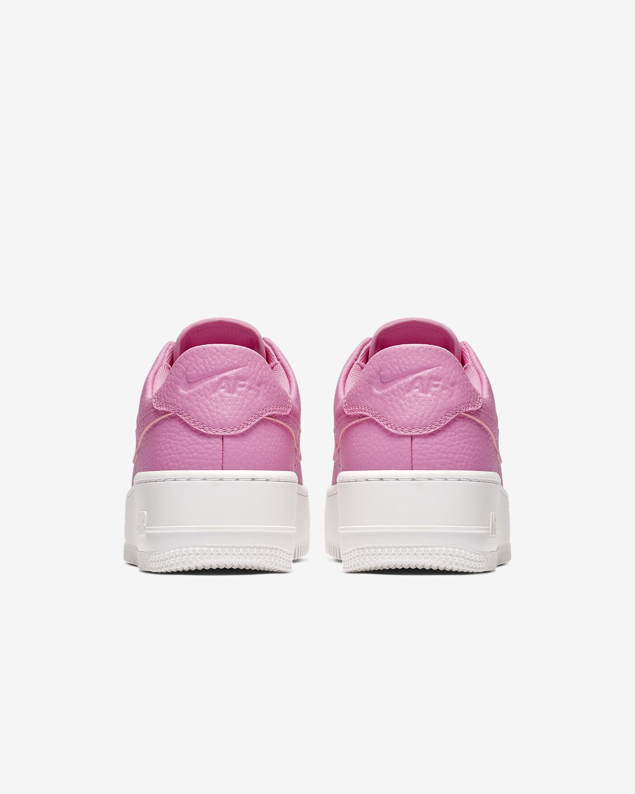 nike air force 1 sage roze