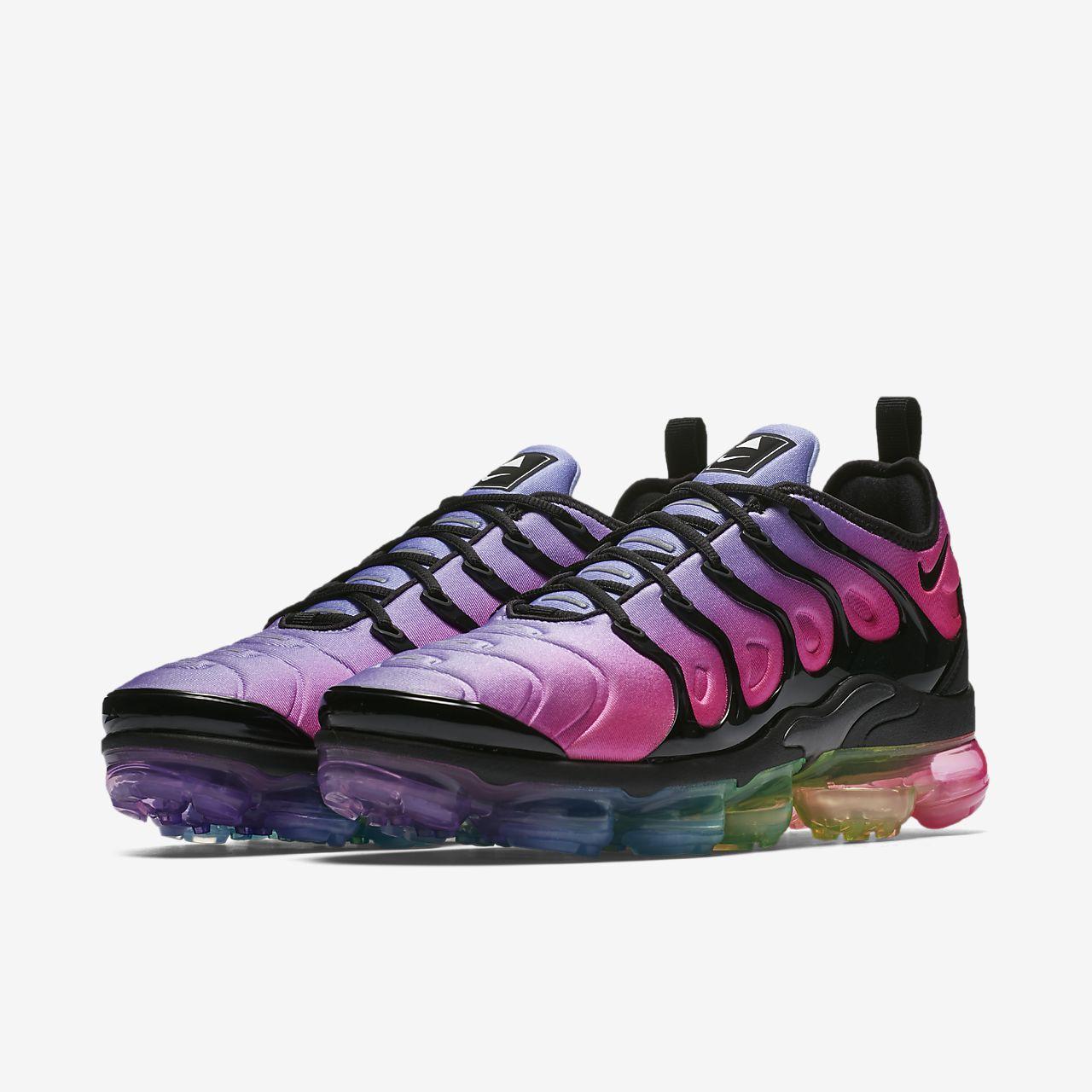 Zapatillas de deporte en negro Air Vapormax Plus de Nike