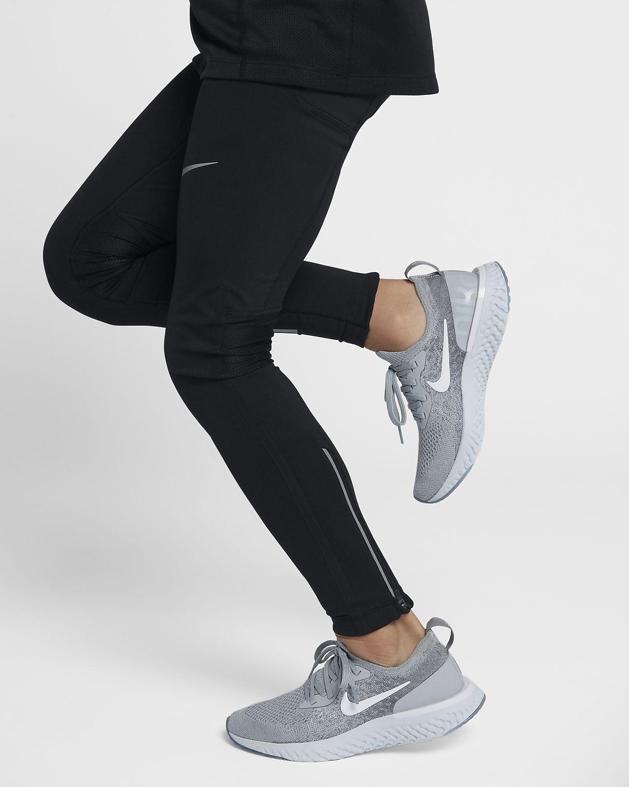 Nike Epic React Flyknit-løbesko til store børn