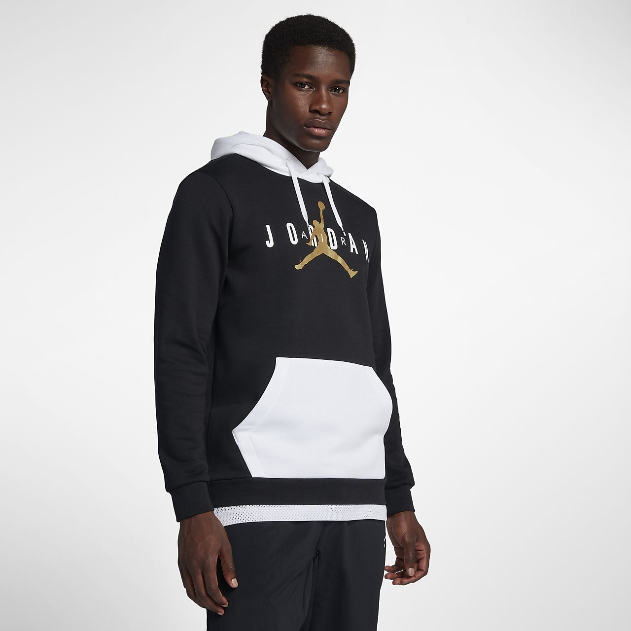 more photos 76bdd 1d5f7 ... Jordan Jumpman Air Men s Fleece Pullover Hoodie