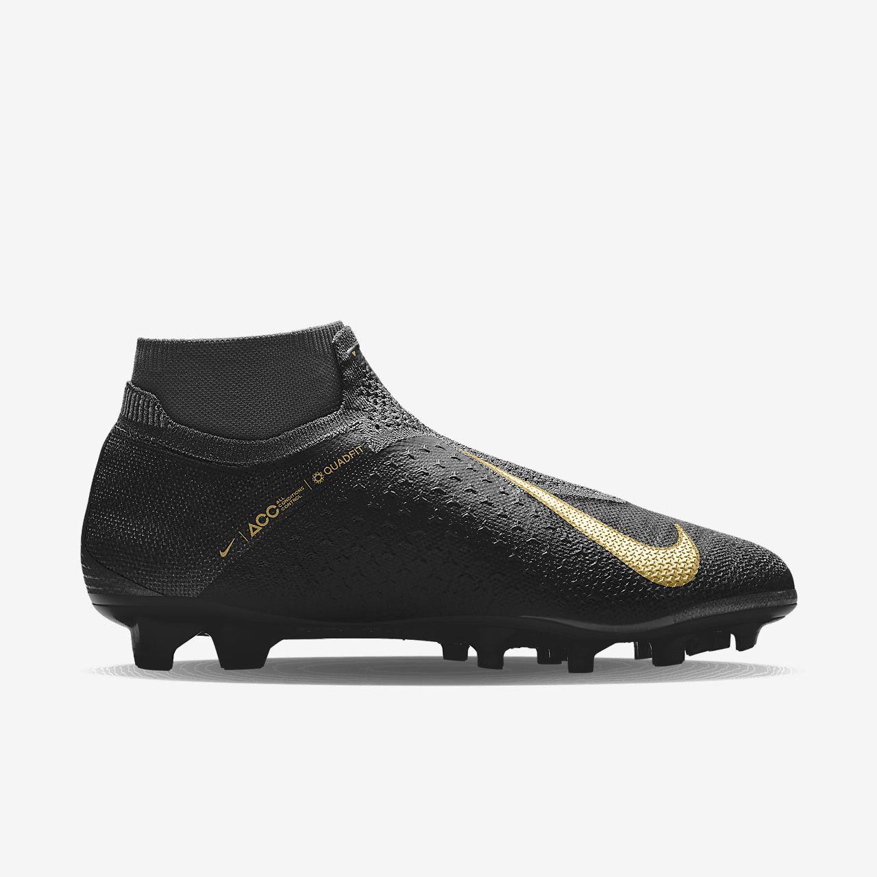 Nike Phantom Vision Elite Fg By You Personalisierbarer Fussballschuh Fur Normalen Rasen