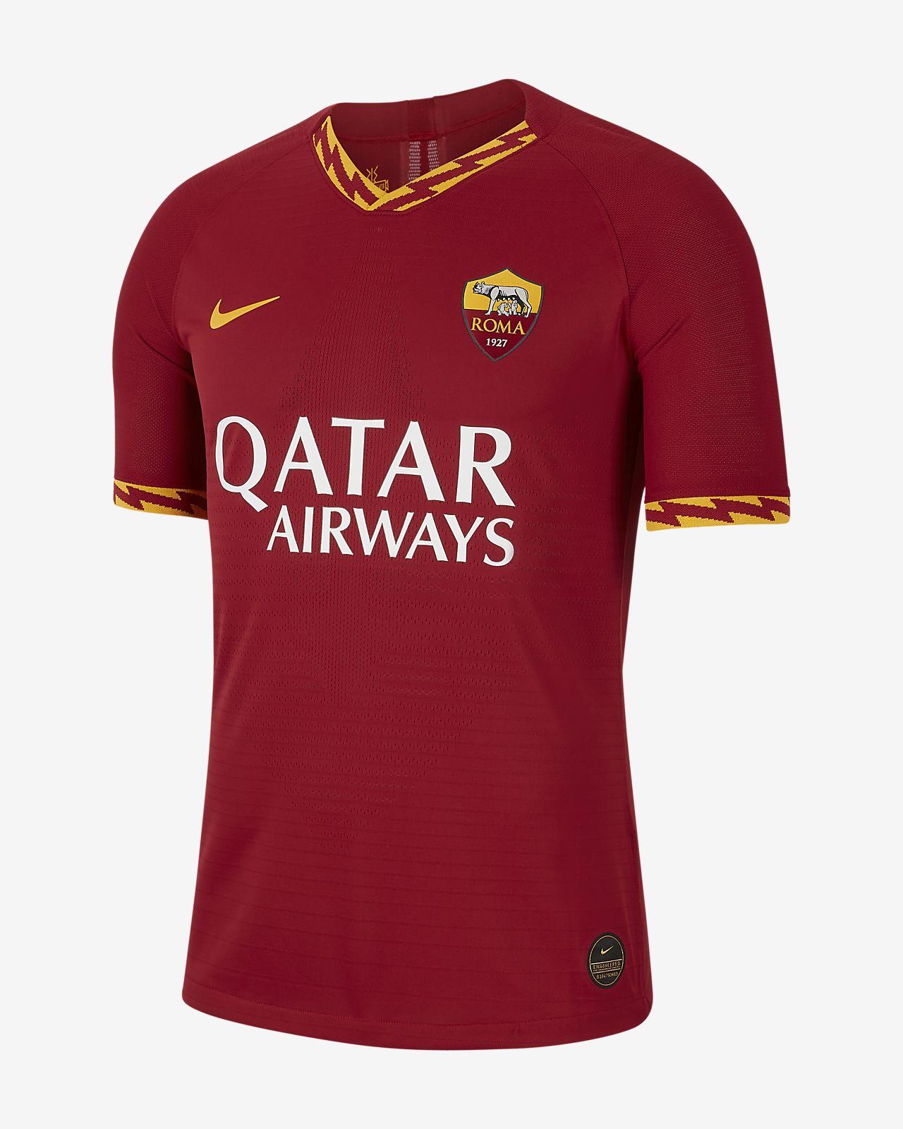 Camiseta de fútbol para hombre de local A.S. Roma 2019/20 Vapor Match