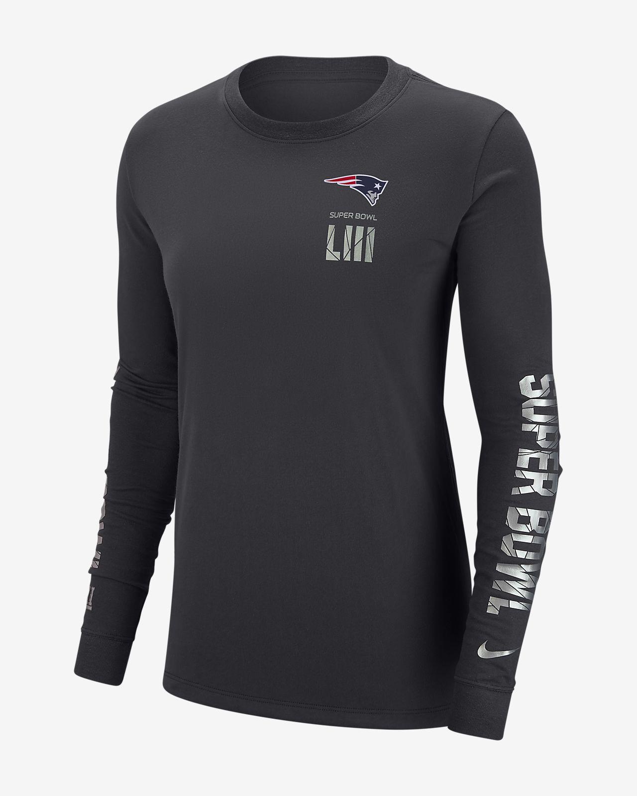 Nike Dri-FIT Super Bowl LIII (NFL Patriots) Women s Long-Sleeve T ... 4b1b60eb4