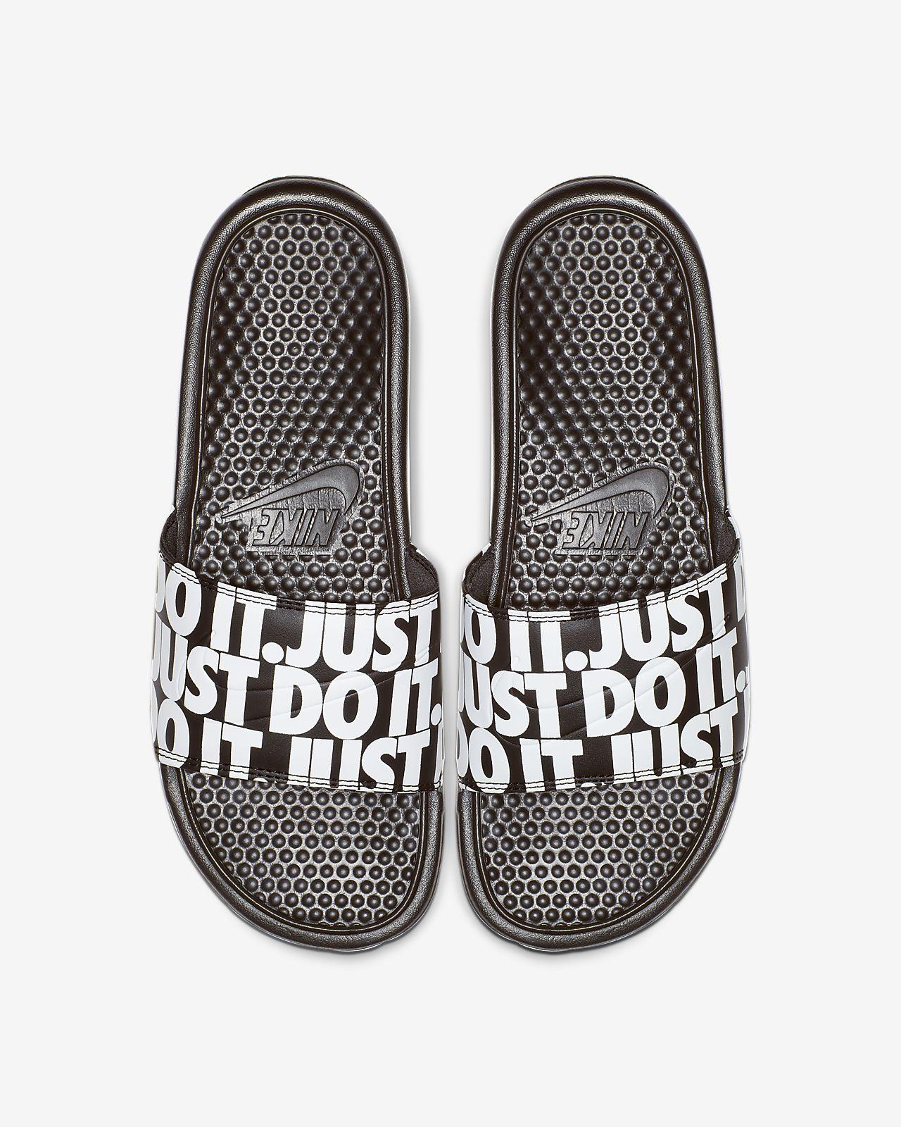 Claquette Nike Benassi JDI Printed pour Homme
