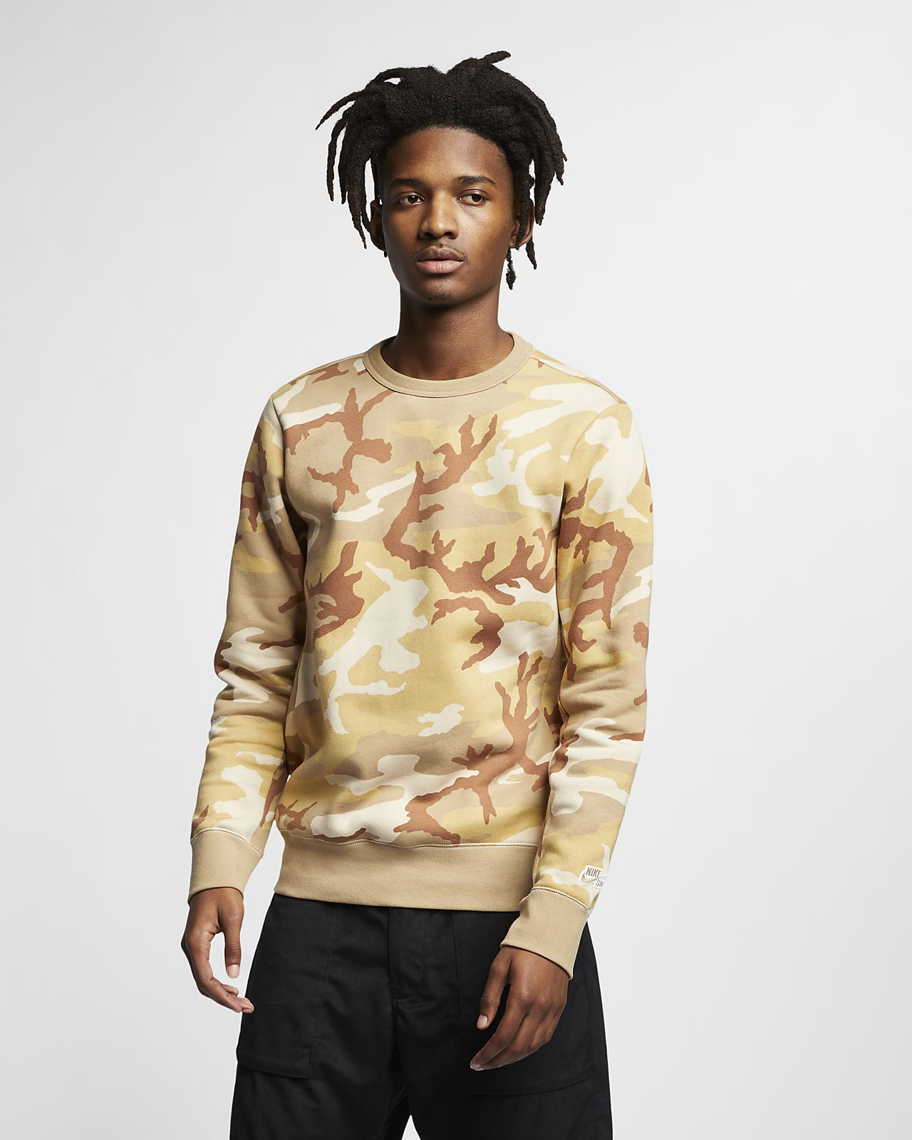 Nike SB Icon Men's Camo Skate Top