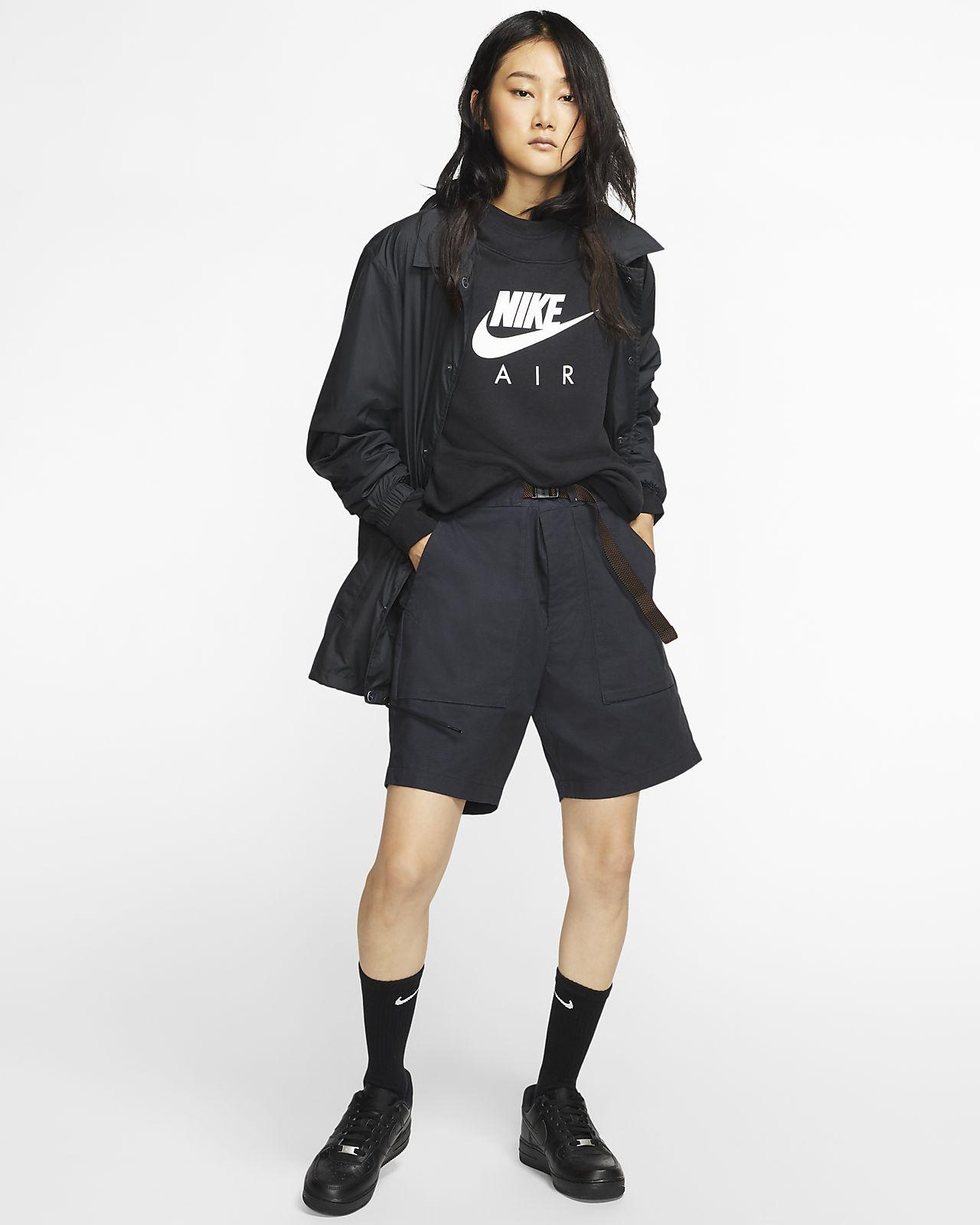 Nike Air Women's Hoodie blackwhite BV5132 010