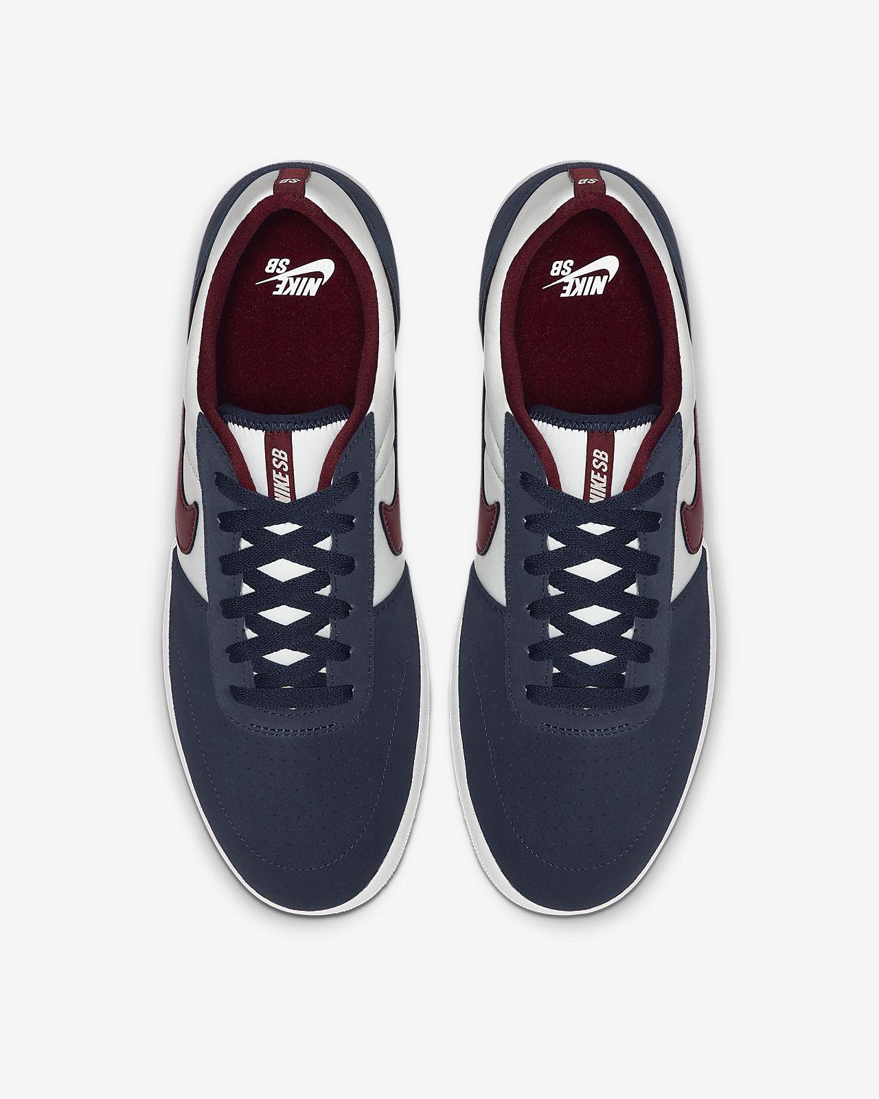 Zapatillas Skate Hombre Nike Nike SB Team Classic Blancas
