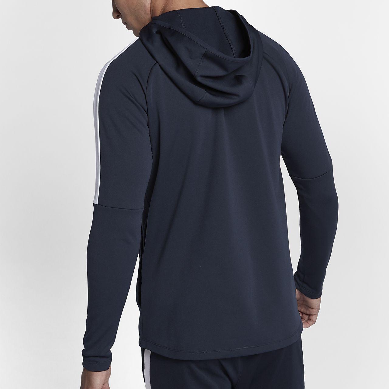 Nike Dri FIT Academy Fußball Pullover Hoodie für Herren