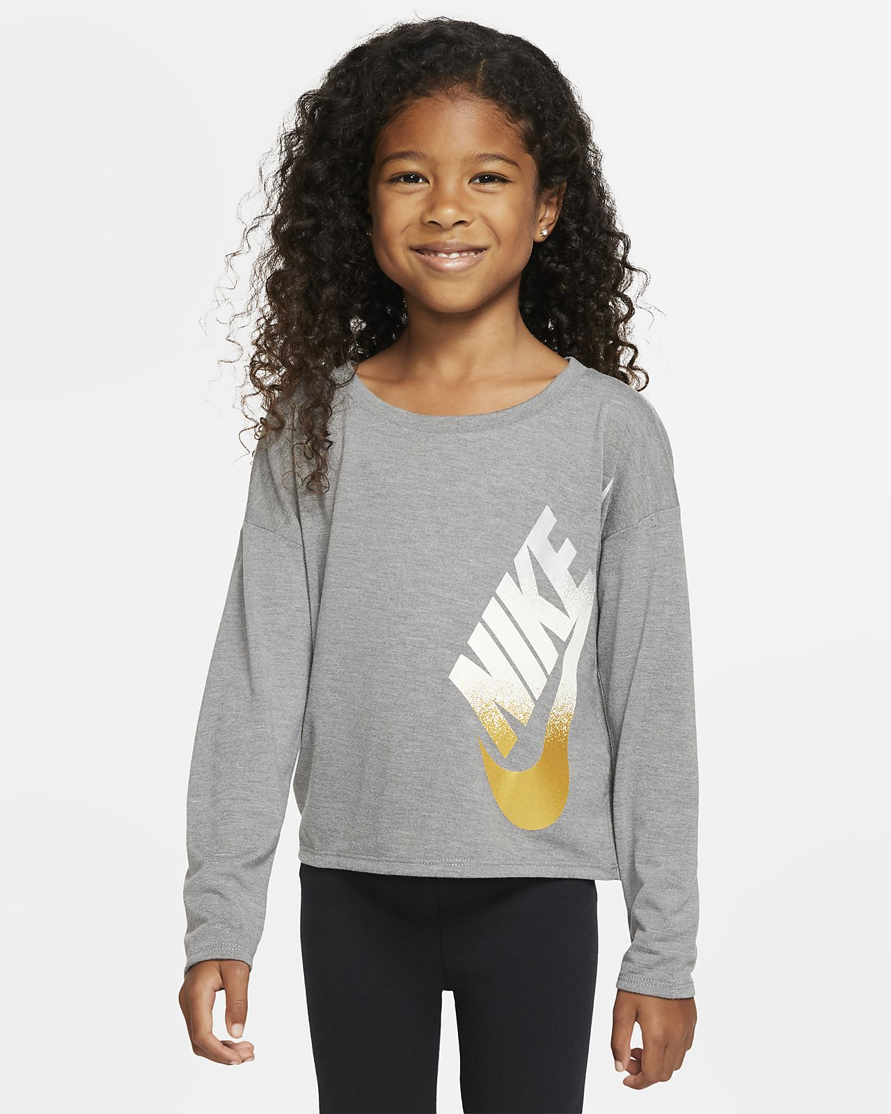 Nike Little Kids' Long-Sleeve Top