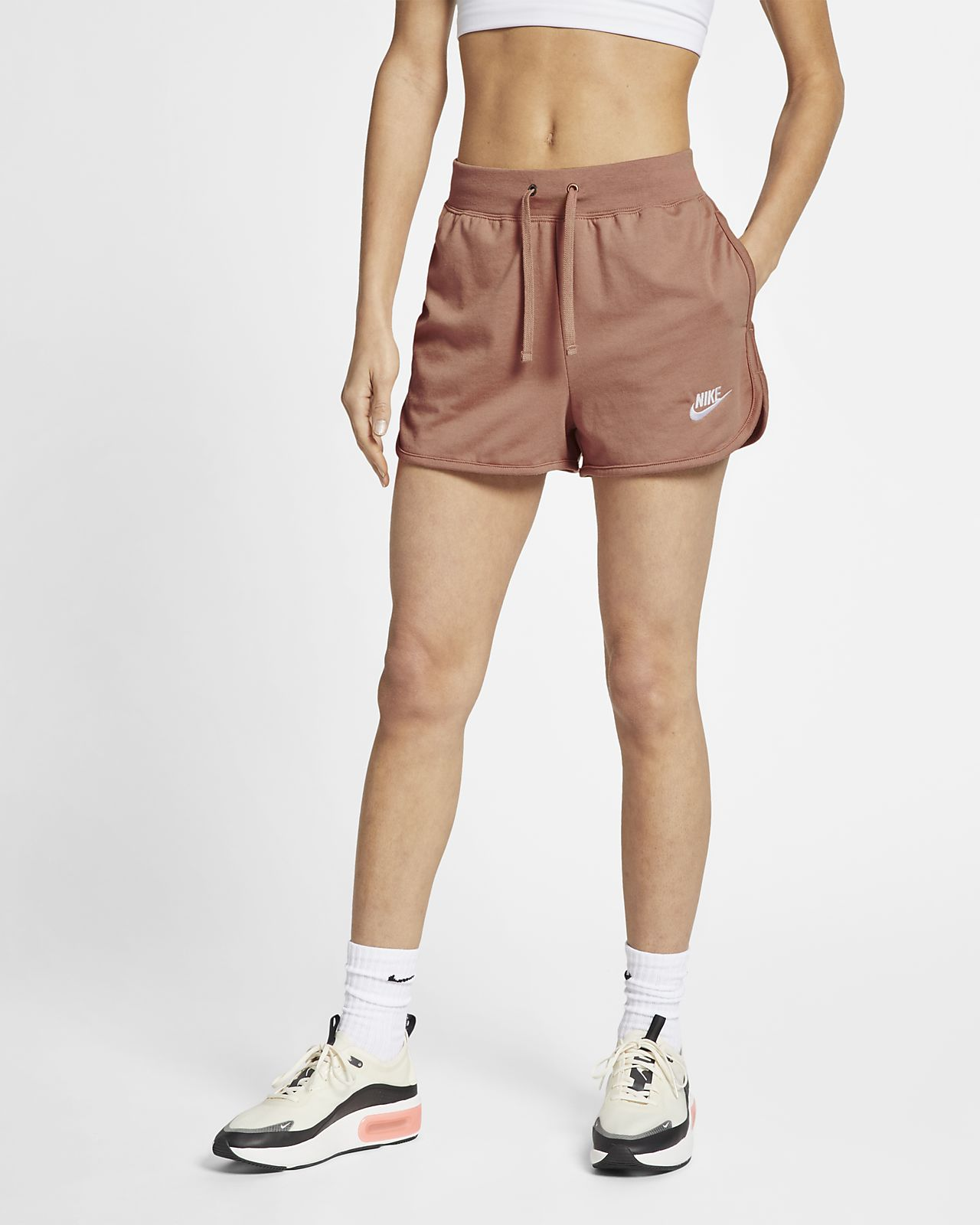 c74a8f0f4 Low Resolution Nike Sportswear Women's Jersey Shorts Nike Sportswear Women's  Jersey Shorts