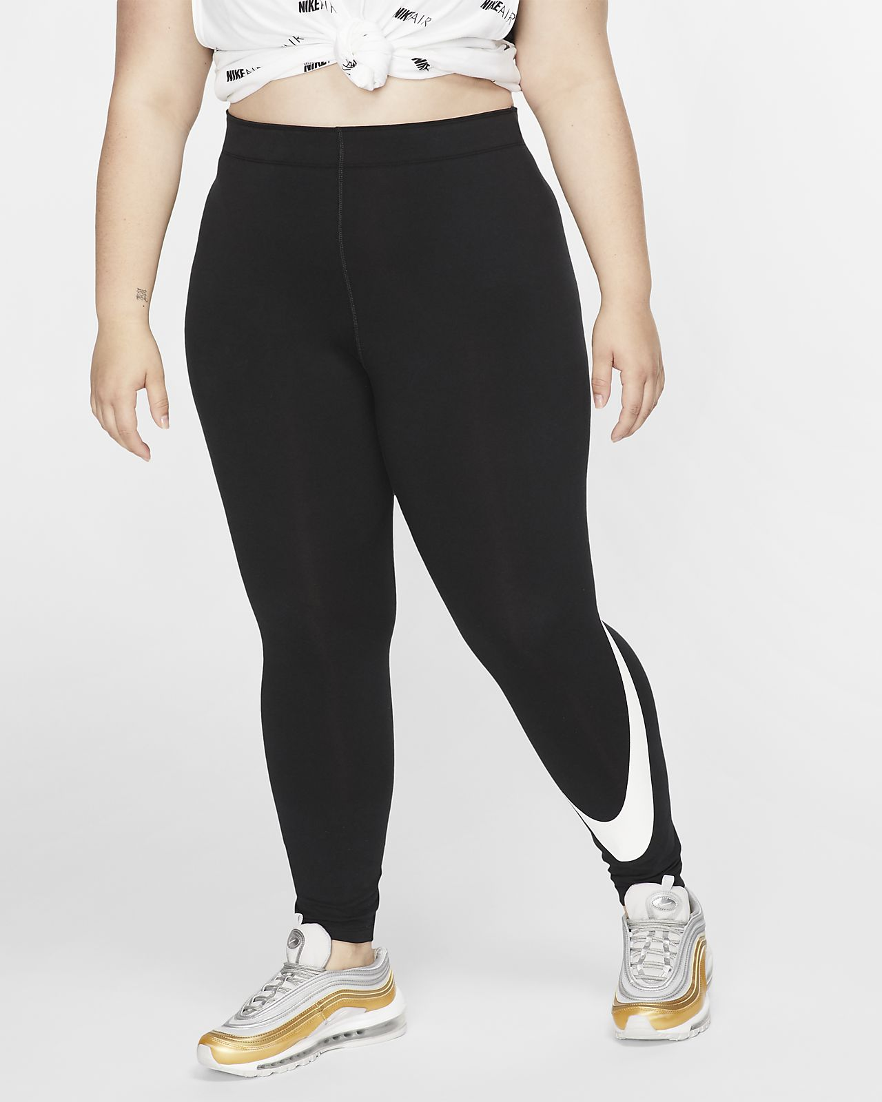 Nike Sportswear Leg-A-See Women's Swoosh Leggings (Plus Size)