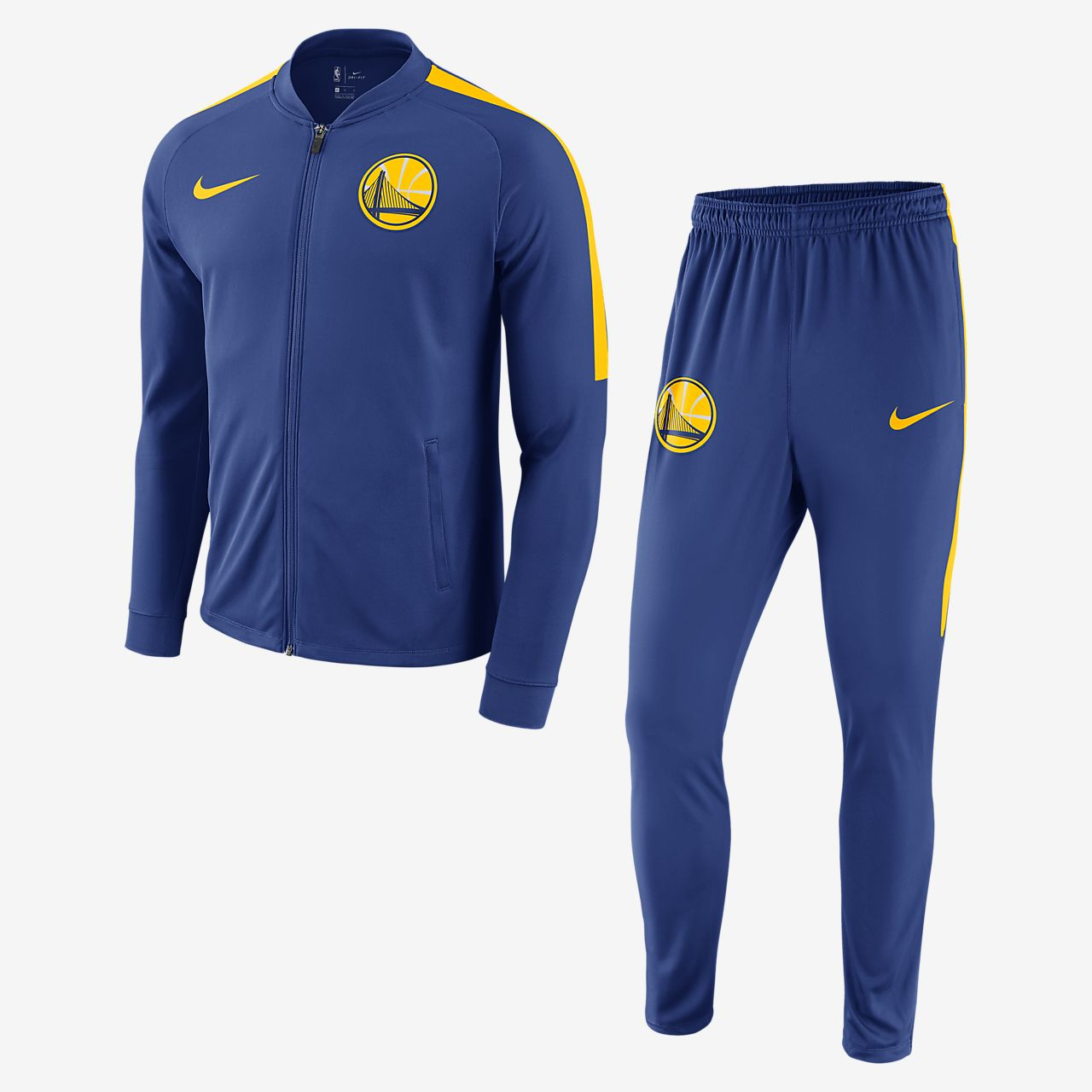 more photos bb7c3 52db2 ... Golden State Warriors Nike Dry Men s NBA Track Suit