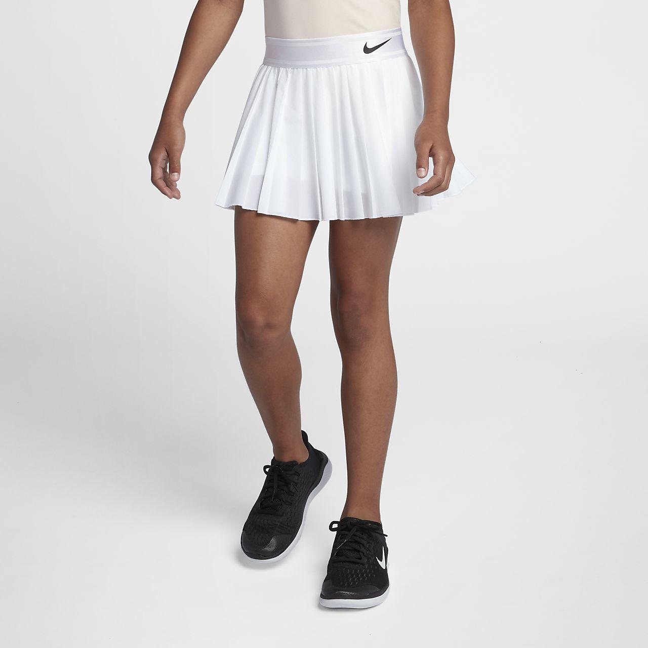 5cae2be39a NikeCourt Victory Older Kids' (Girls') Tennis Skirt. Nike.com CH