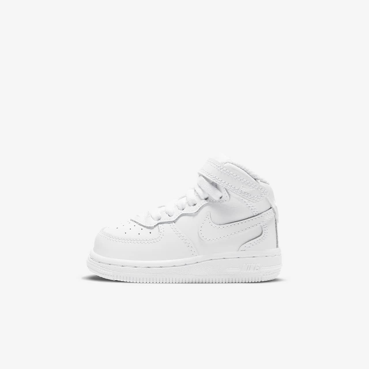 Nike Air Force 1 Mid-skoen til babyer/småbørn