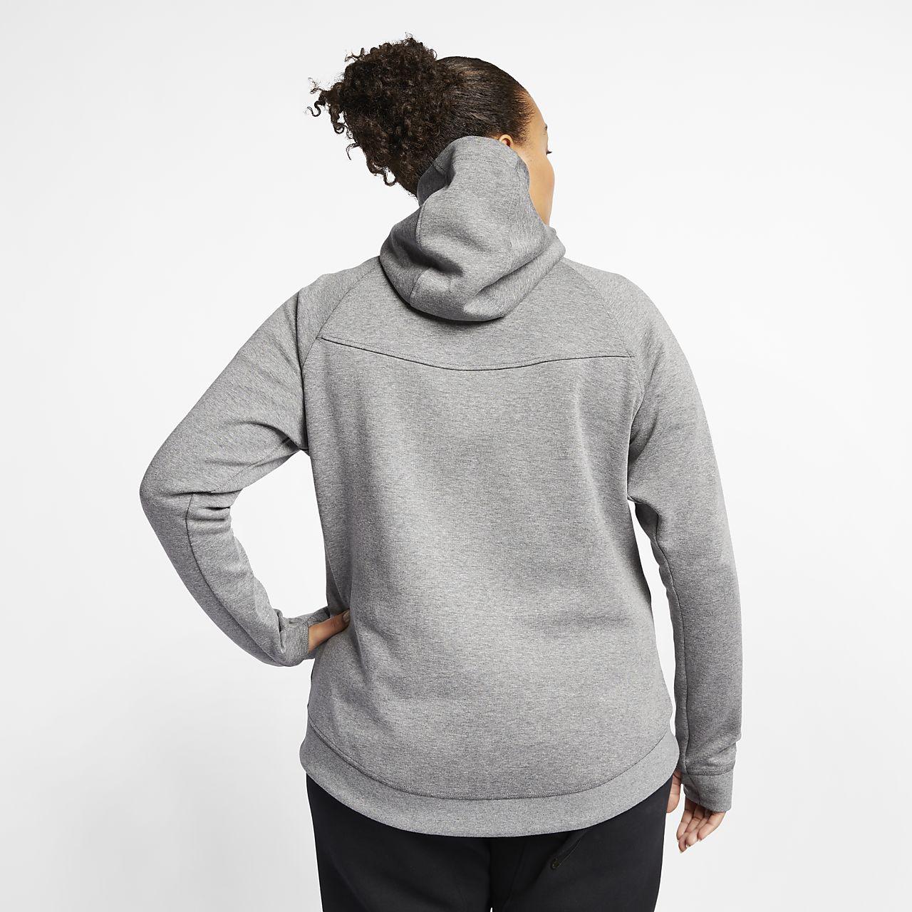 Nike Tech Fleece Full Zip Hoody Women Hoodies & sweatshirts Women Hoodies & sweatshirts COLOUR-black