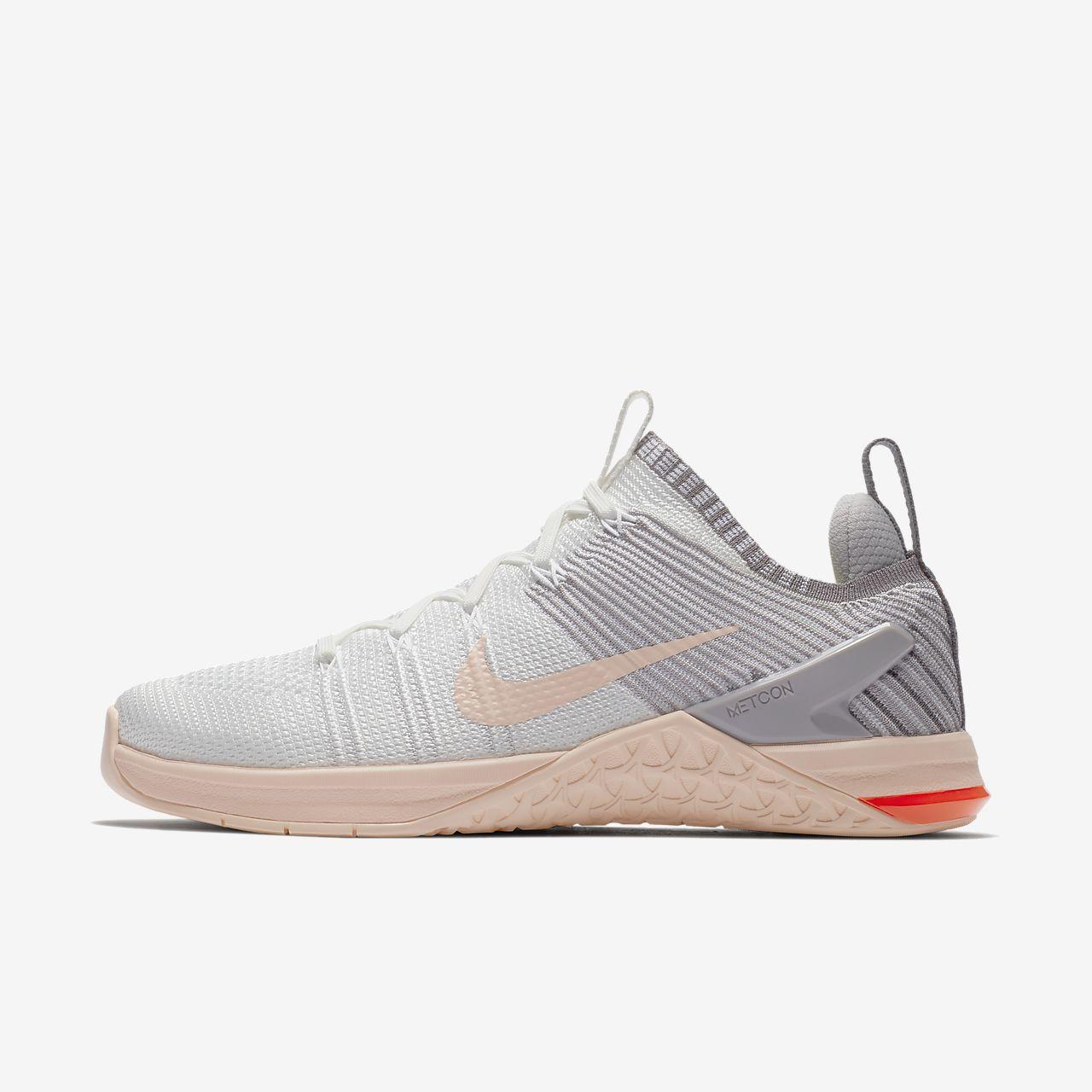 Nike Performance METCON DSX FLYKNIT 2 - Sports shoes - white/crimson tint/atmosphere pRR93Cc8y