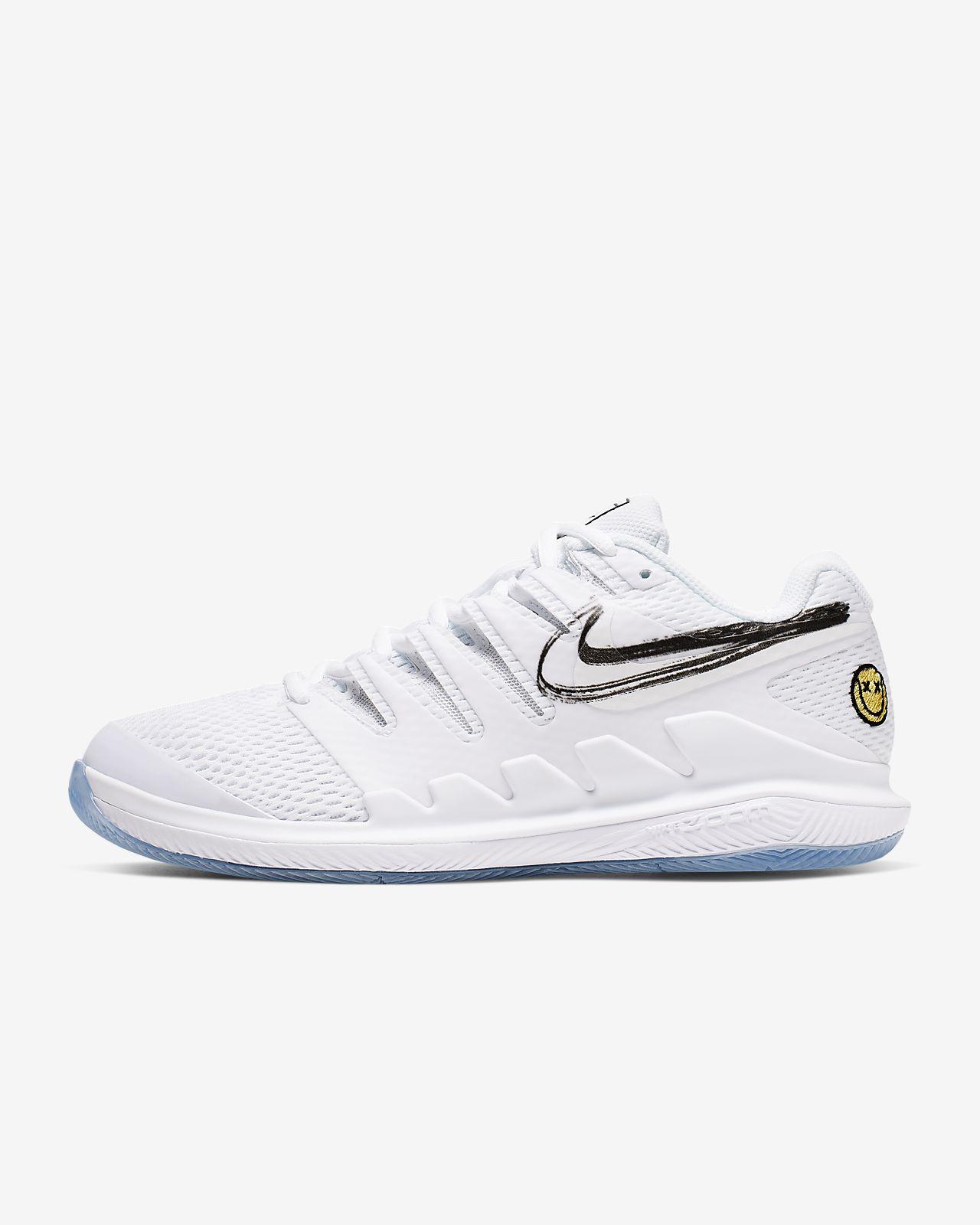 NikeCourt Air Zoom Vapor X Sert Kort Kadın Tenis Ayakkabısı