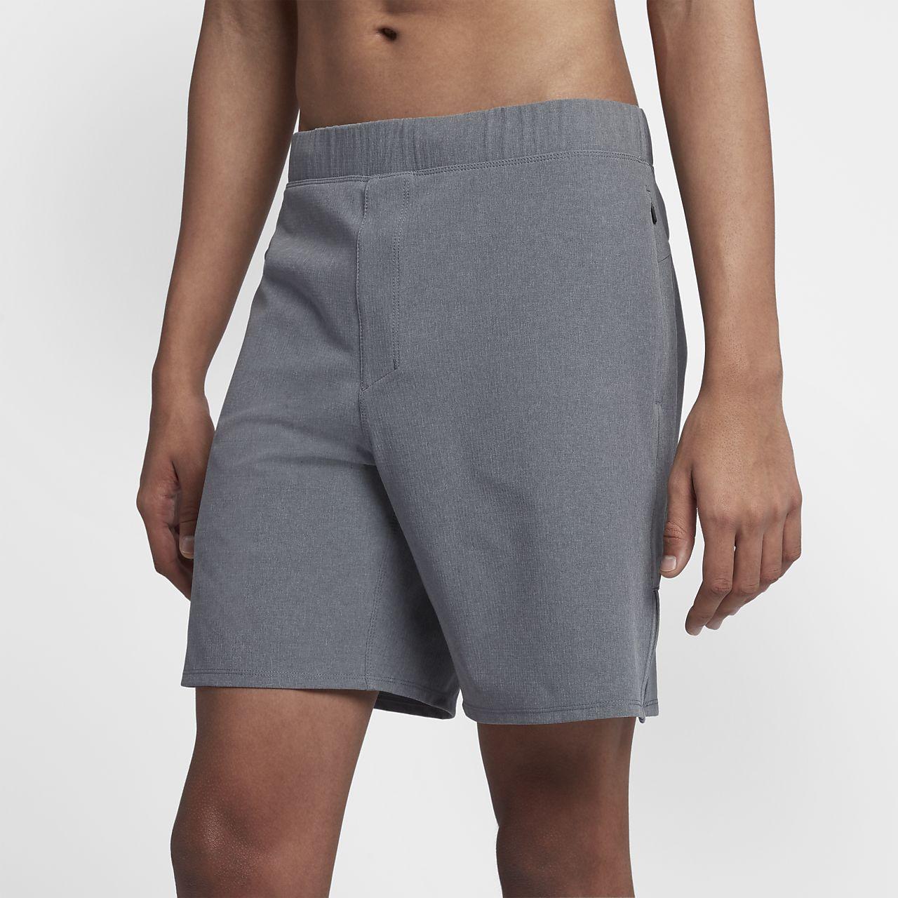 Hurley Alpha Trainer Plus-shorts (45,5 cm) til mænd