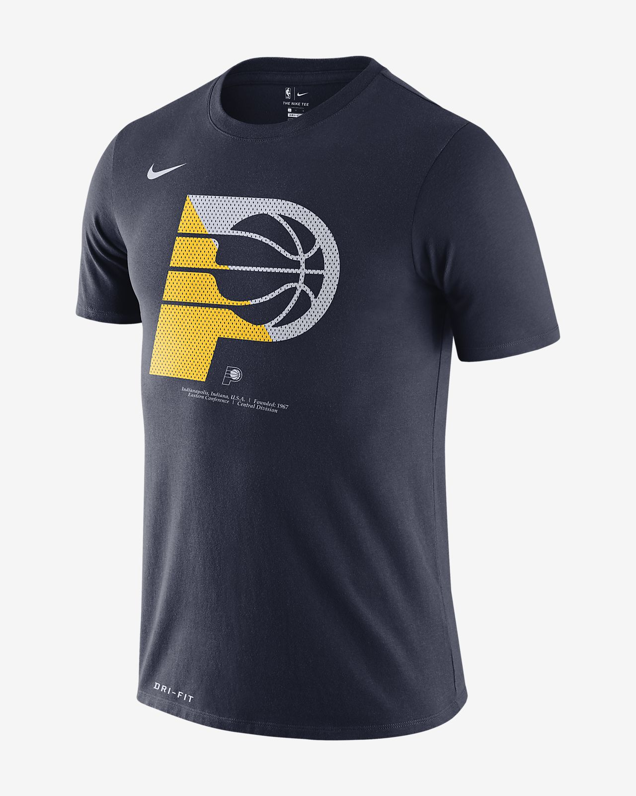 Tee-shirt NBA Indiana Pacers Nike Dri-FIT pour Homme