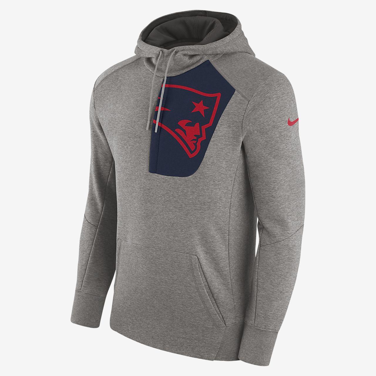Sweat à capuche Nike Fly Fleece (NFL Patriots) pour Homme