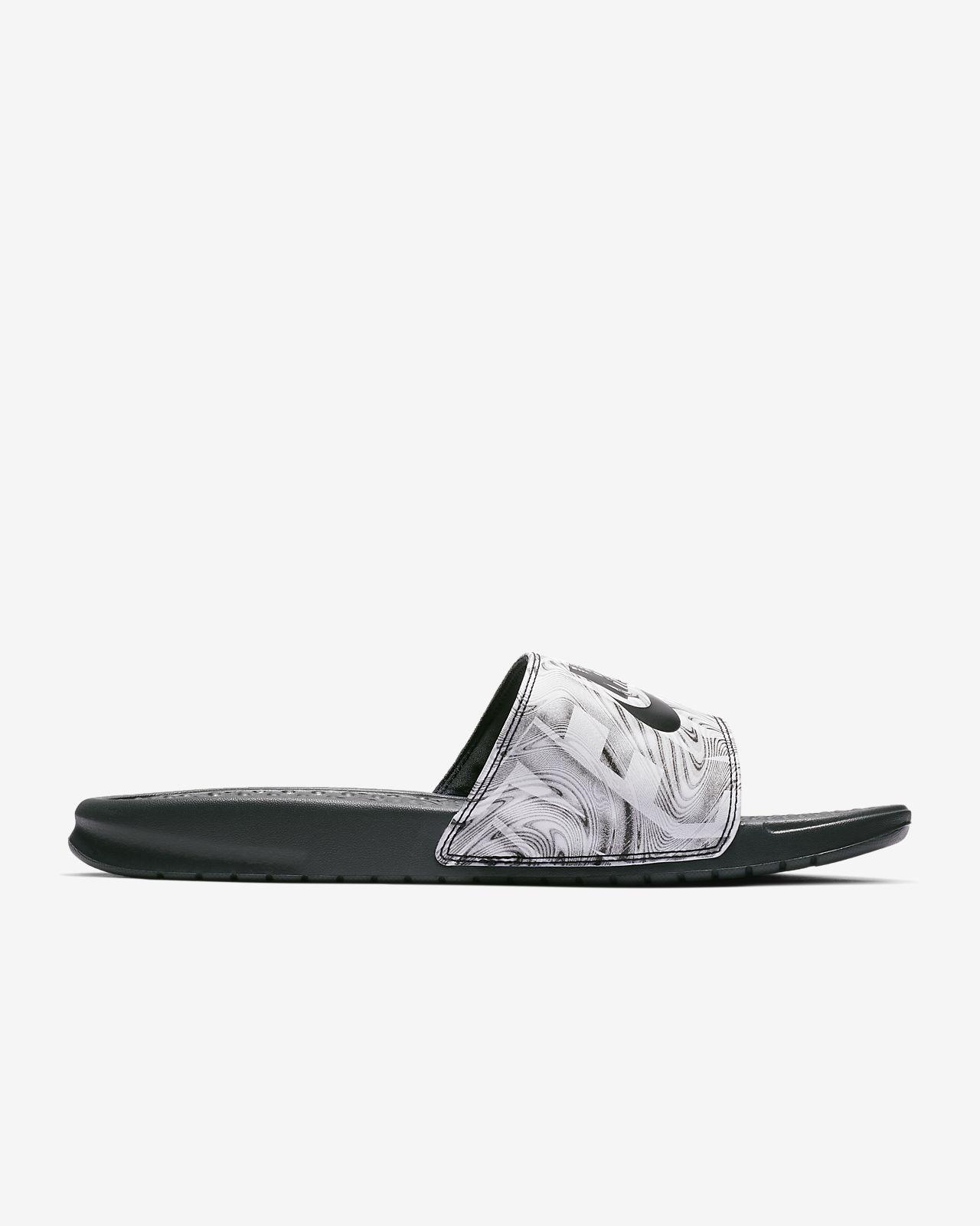 Benassi Homme Marron Nike Sandales Printed Vm0nnw8o JlF1cKu3T