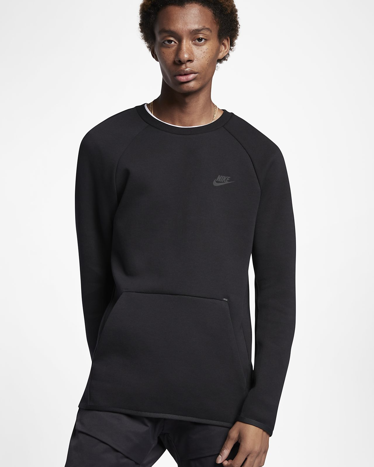 Nike Sportswear Tech Fleece Men's Long-Sleeve Crew