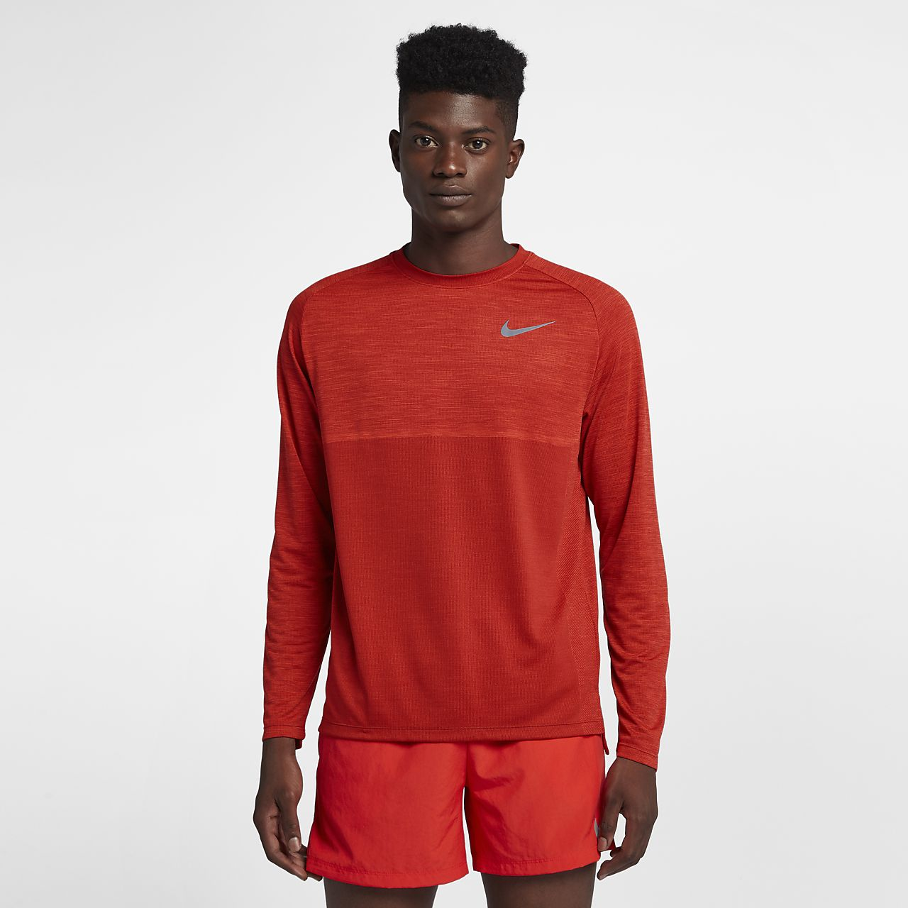 0977ac97 Nike Dri-FIT Medalist Men's Long-Sleeve Running Top. Nike.com GB