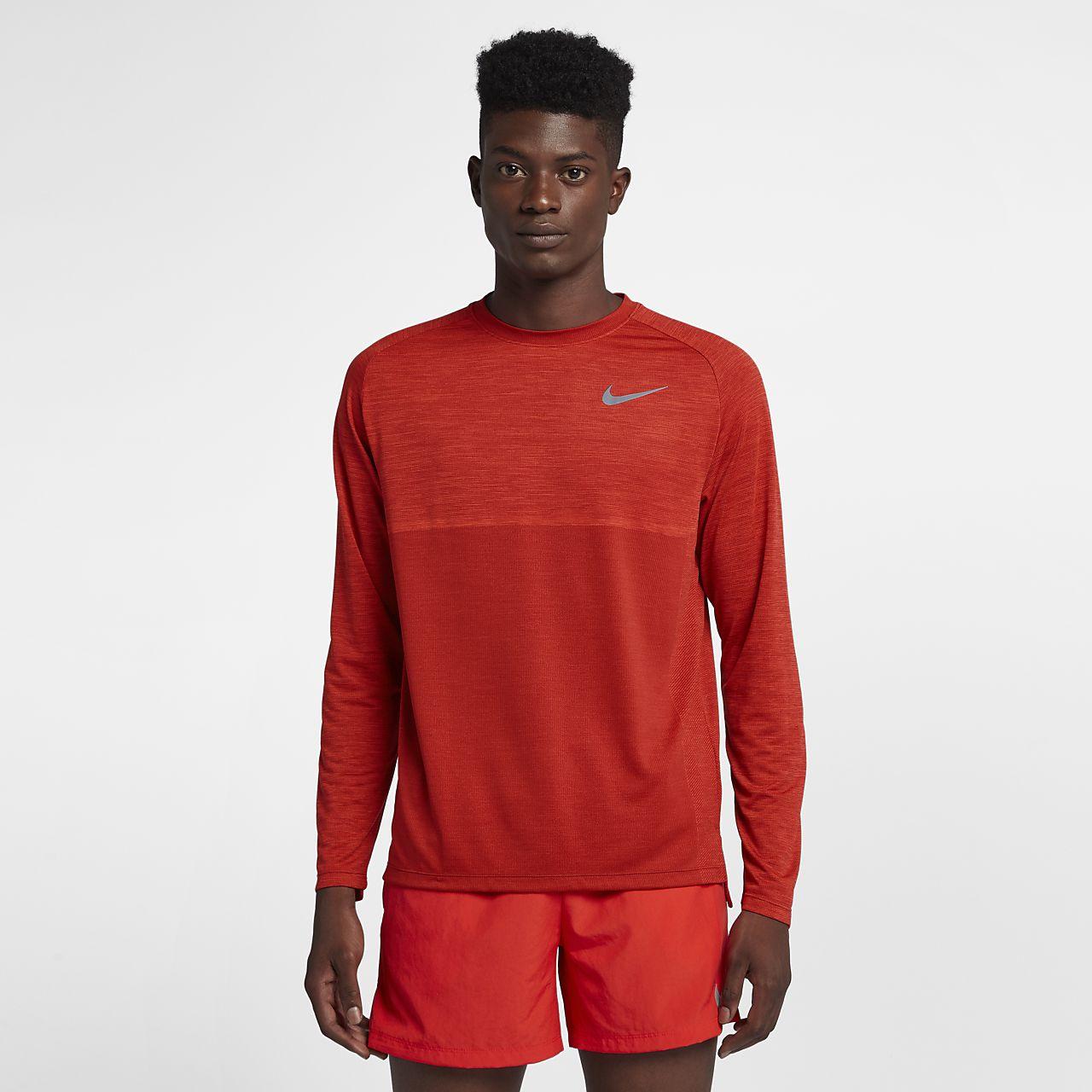 8defa1248 Nike Orange Long Sleeve Compression Shirt - DREAMWORKS