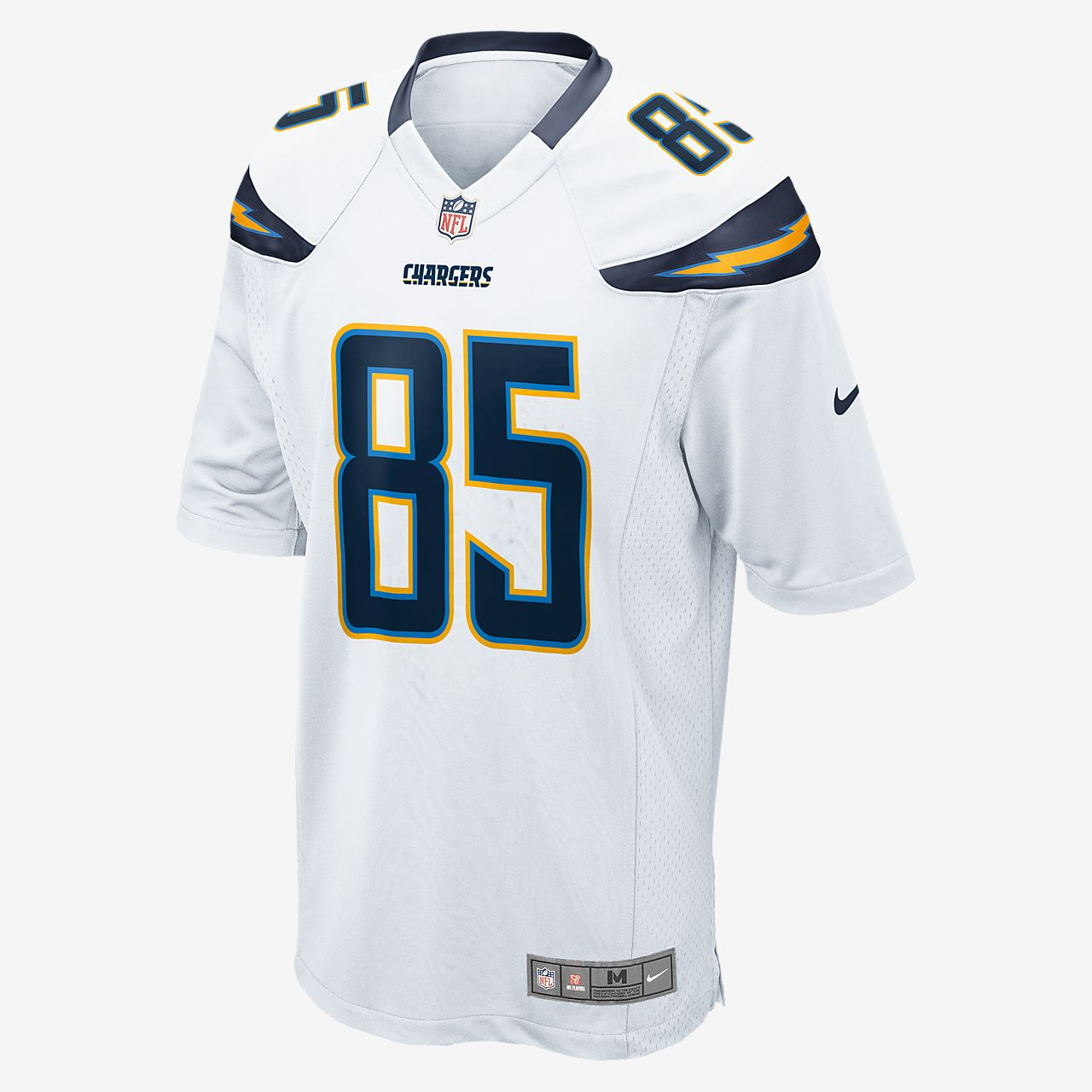 white antonio gates jersey